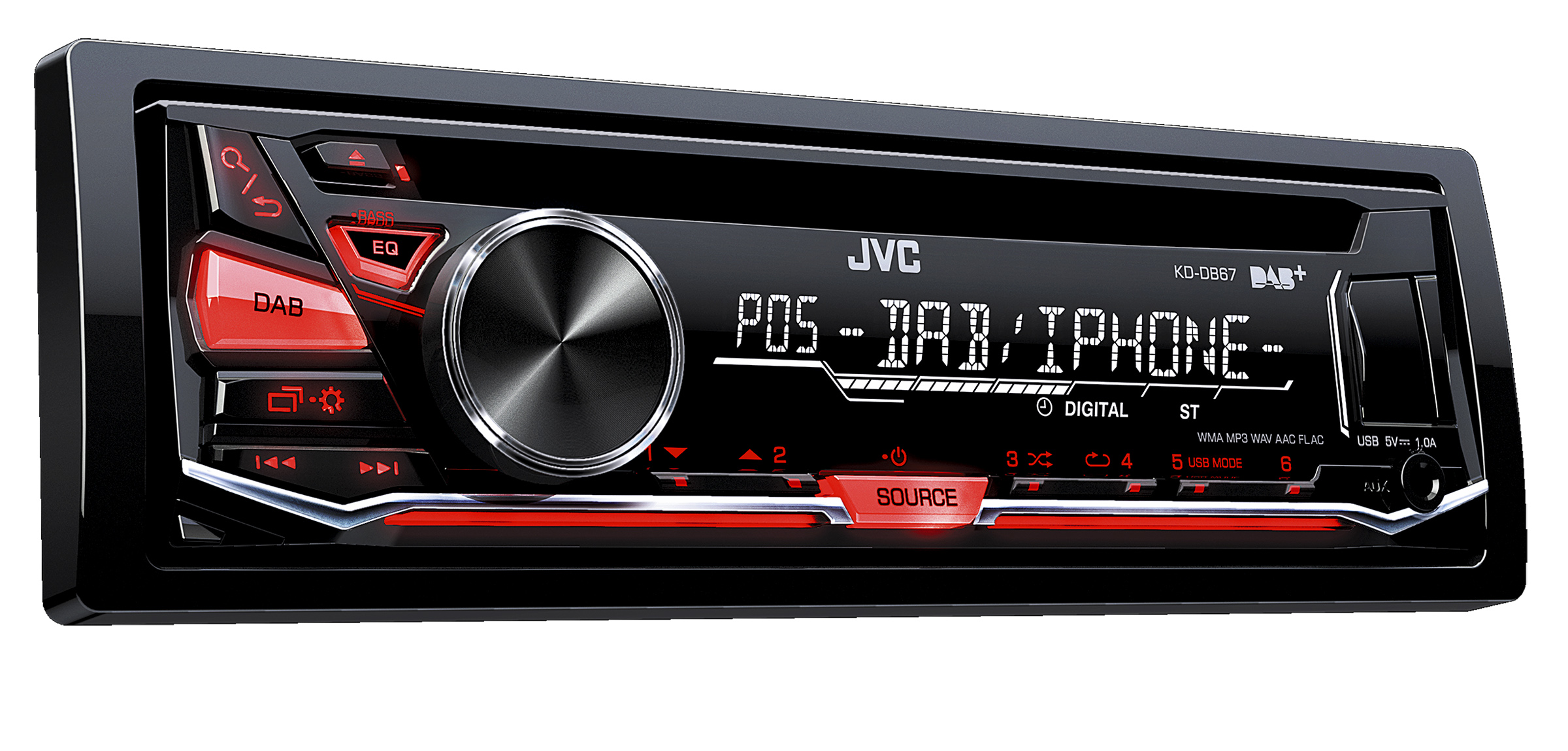 JVC KD-DB65 Receiver Drivers for Windows