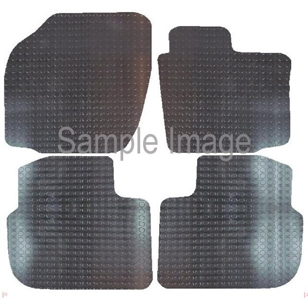 BMW E46 3 Series Saloon 1998-2005 - Pattern 10 POLCO Rubber Tailored Car Mat