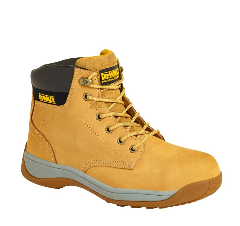 Dewalt DWF60105-103 Builder Steel Toe Safety Boots Honey Size 7