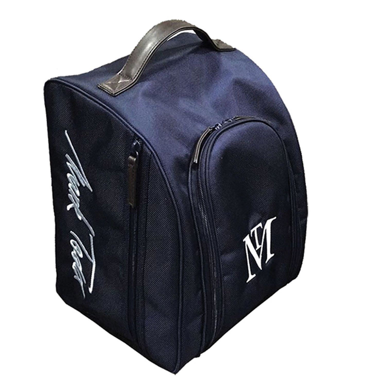 Mark Todd Padded Pro Hat Bag One Size Navy Chocolate