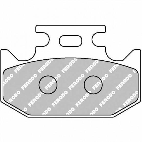 Ferodo Eco Rear Brake Pads  for APRILIA RS 250  250cc 97/>98 FDB680EF