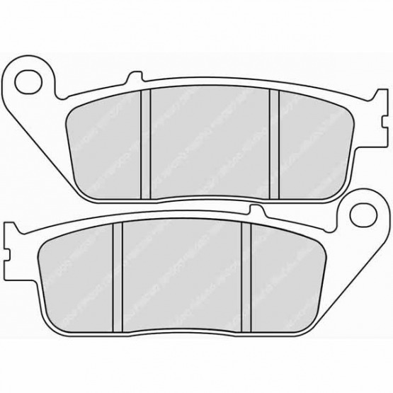 A082 Ferodo Sintered Rear Brake Pads  for TRIUMPH TIGER 800 XCx 800cc 15/>17 F