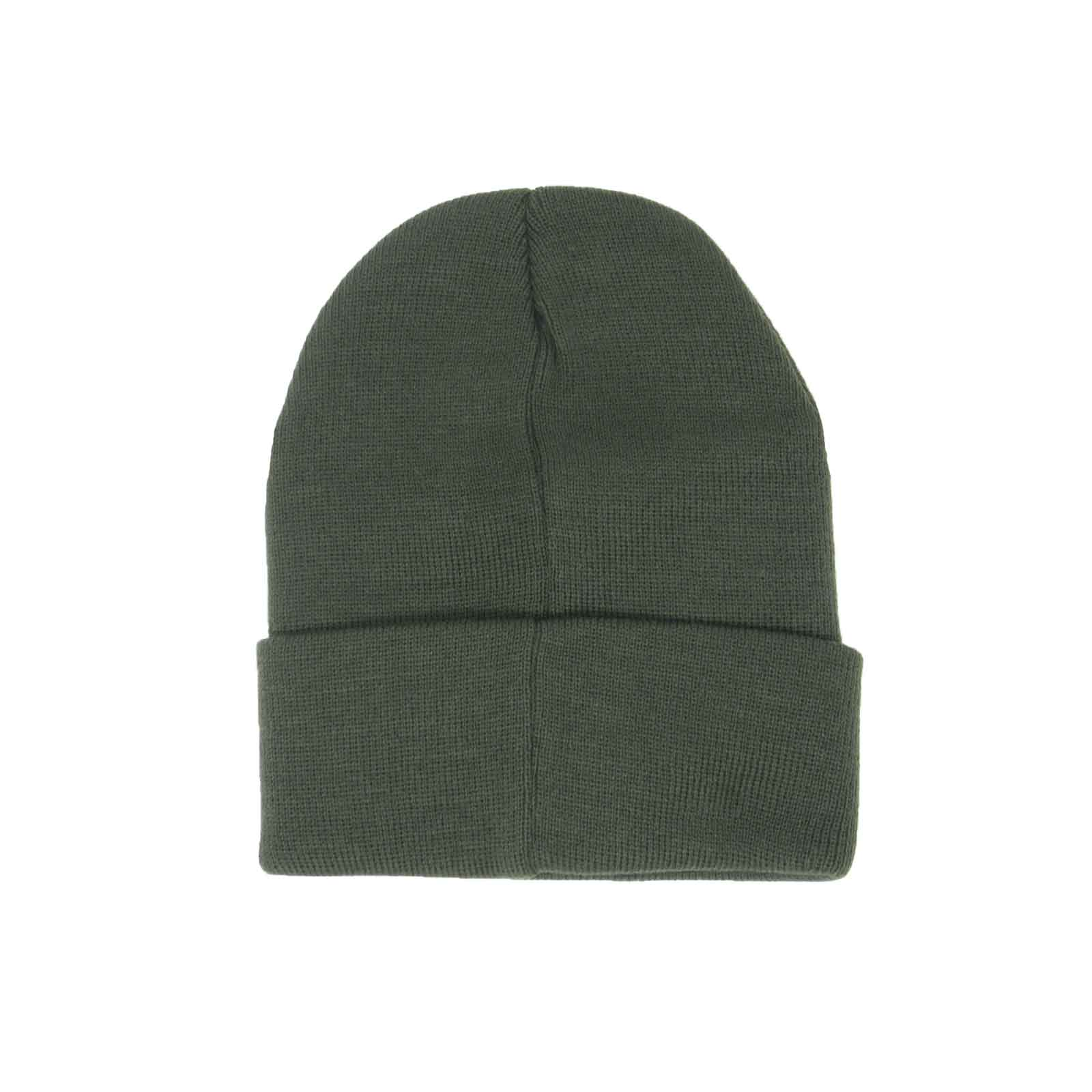 32955e40a05 Details about Mens Original Penguin Prez Logo Forest Green Cuffed Knitted  Winter Beanie Hat