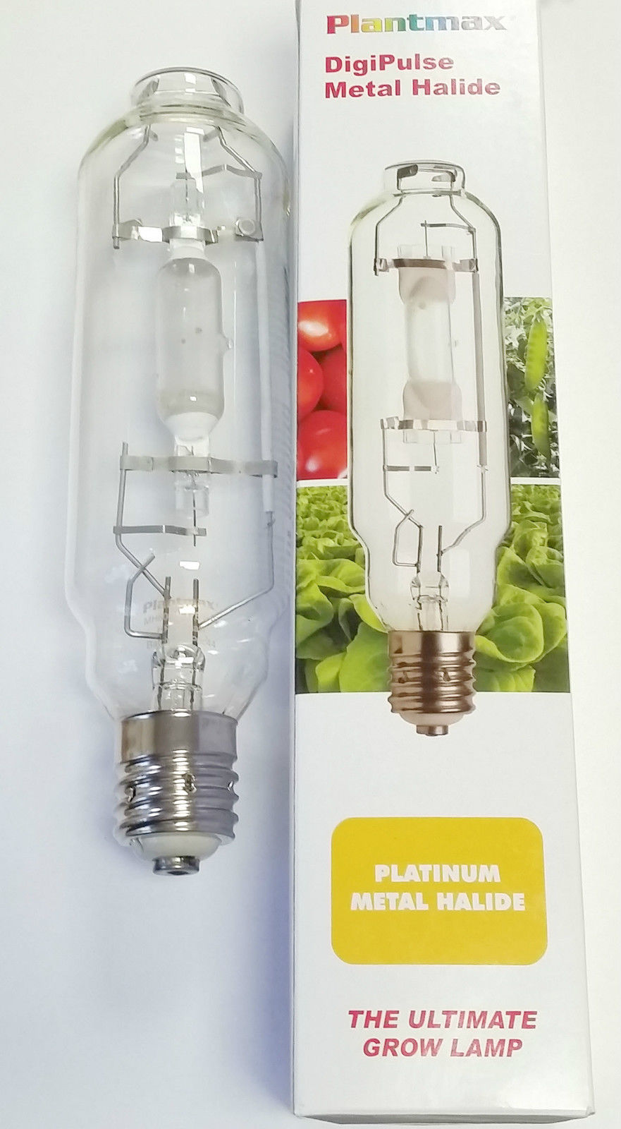 Hydroponic 600w watt MH Grow Growing Light Bulb Metal Halide Lamp for Ballast