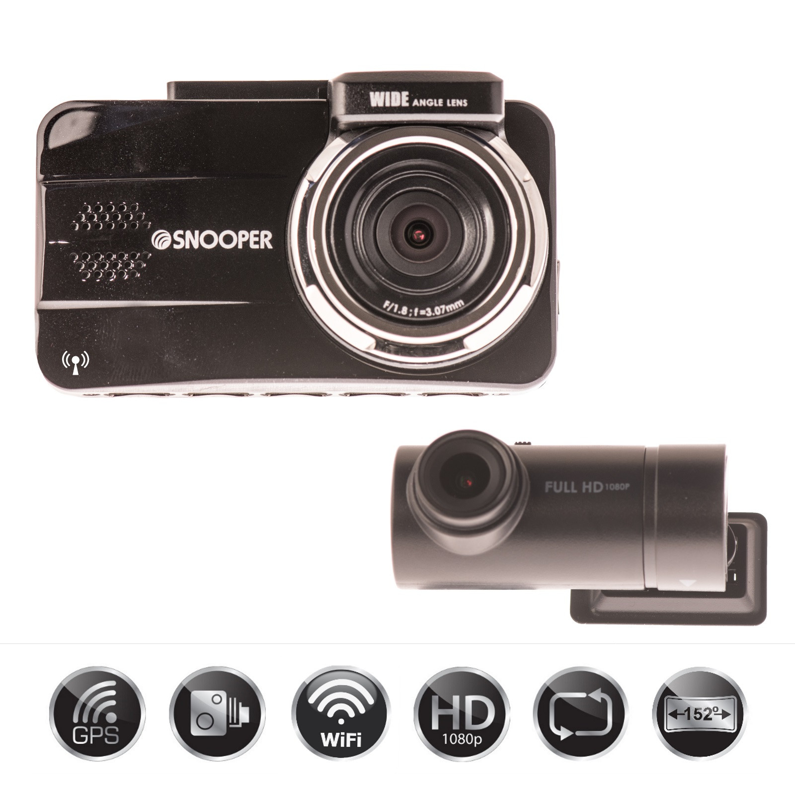 Kenwood drv-830 Wide quad-HD-Dashcam con GPS y fahrassistenzsystem