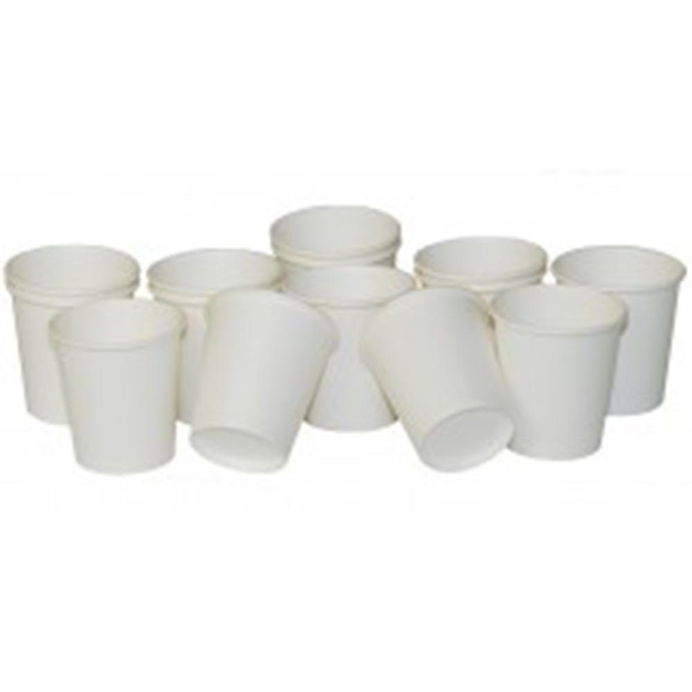 4oz Plain White Disposable Paper Sampling Event Espresso