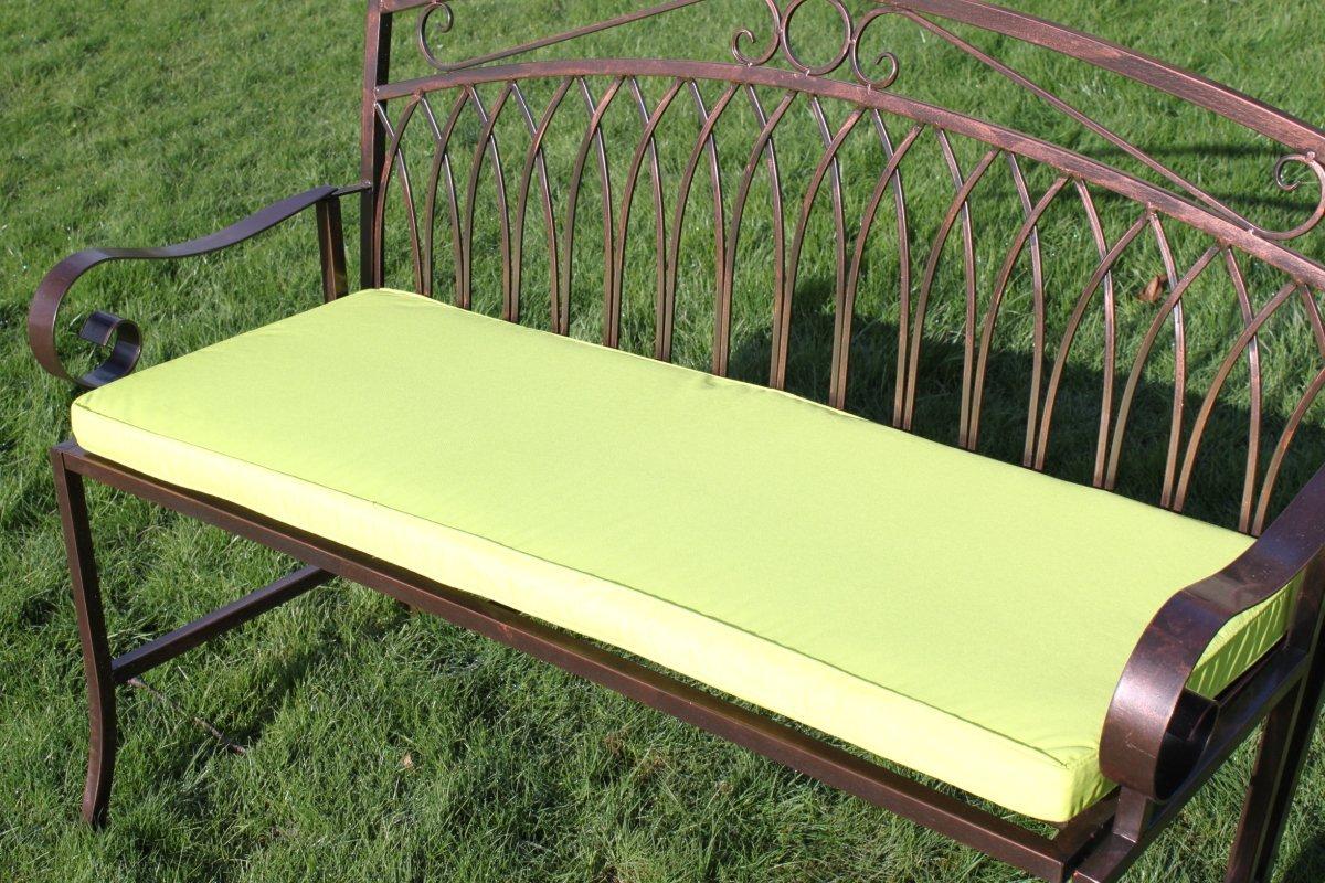 Coussin Pour Banc De Jardin En Metal 2 Places Coloris Citron Vert