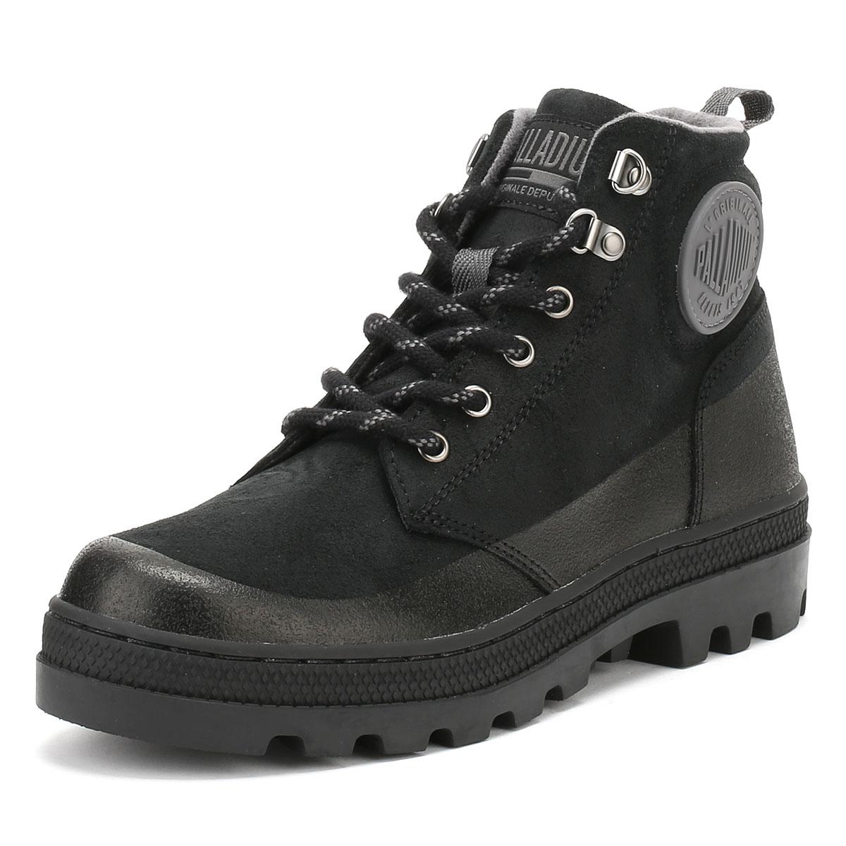 Palladium Mens schwarz or Braun Pallabosse Ankle HIKR Stiefel Suede Winter Ankle Pallabosse Schuhes ab40dd