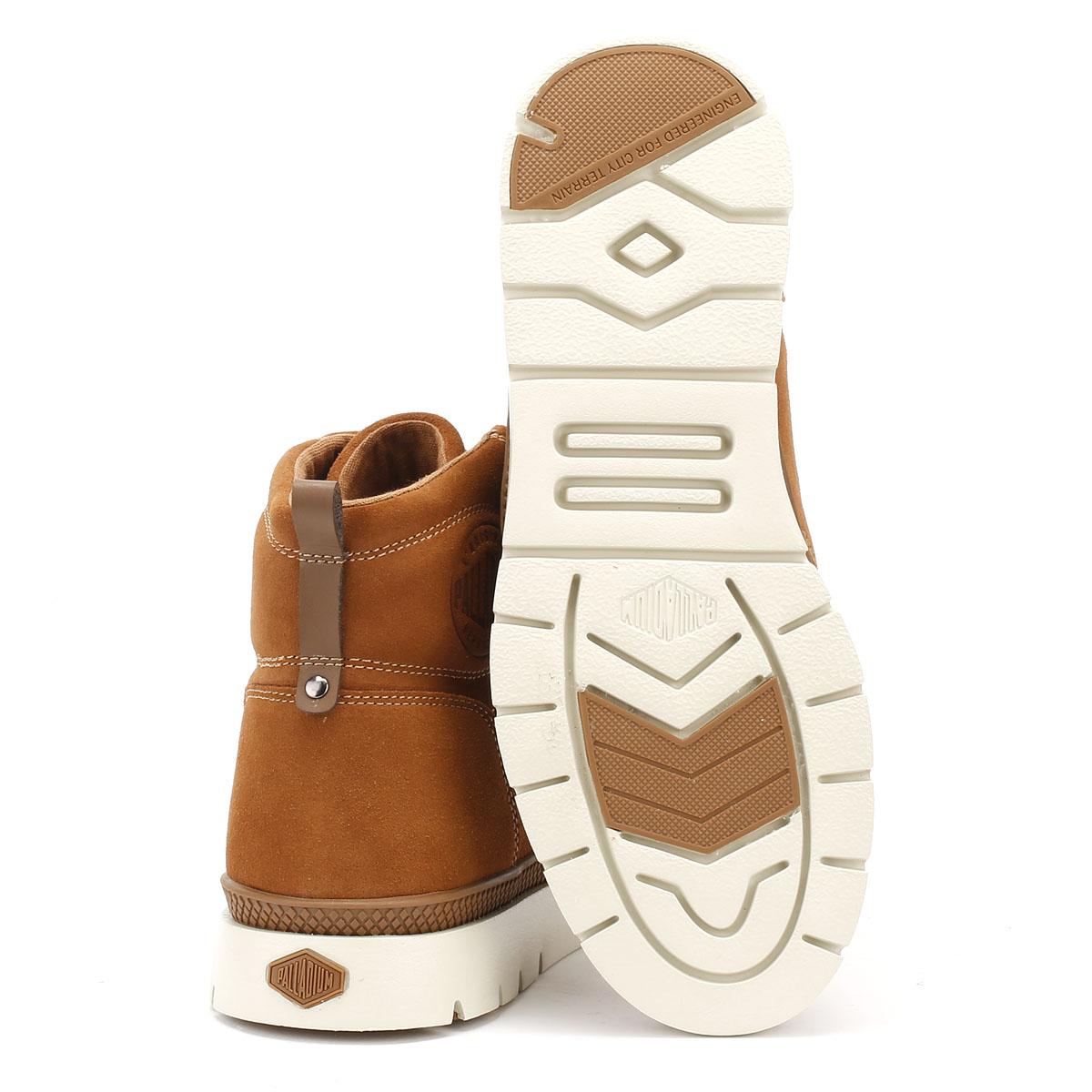 Palladium  Casual Uomo Braun Pallasider Mid Stiefel Suede Casual  Winter Ankle Schuhes 483149