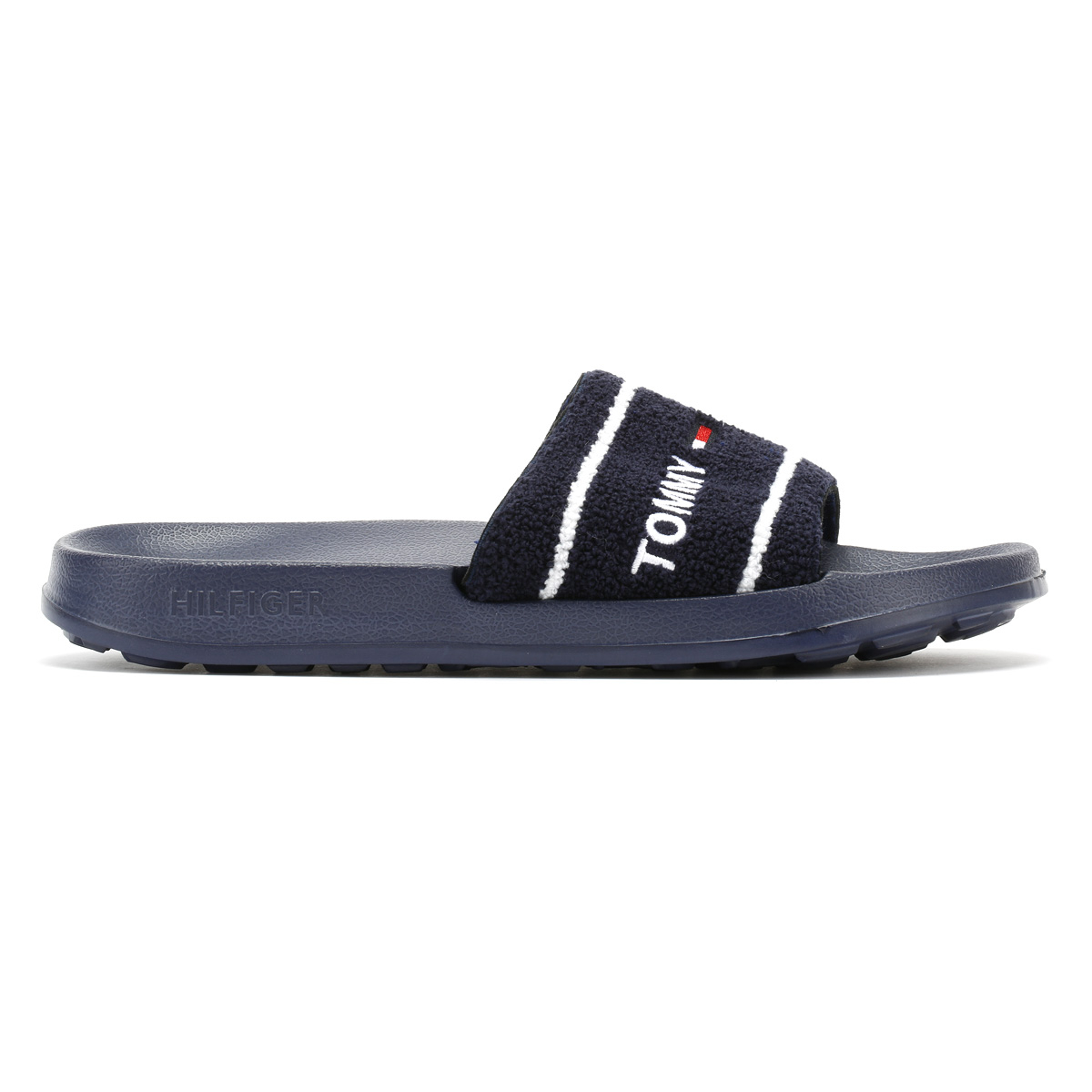 ba1e769c Featuring an embroidered Tommy Jeans logo across the straps. Terry upper;  EVA insock / outsock