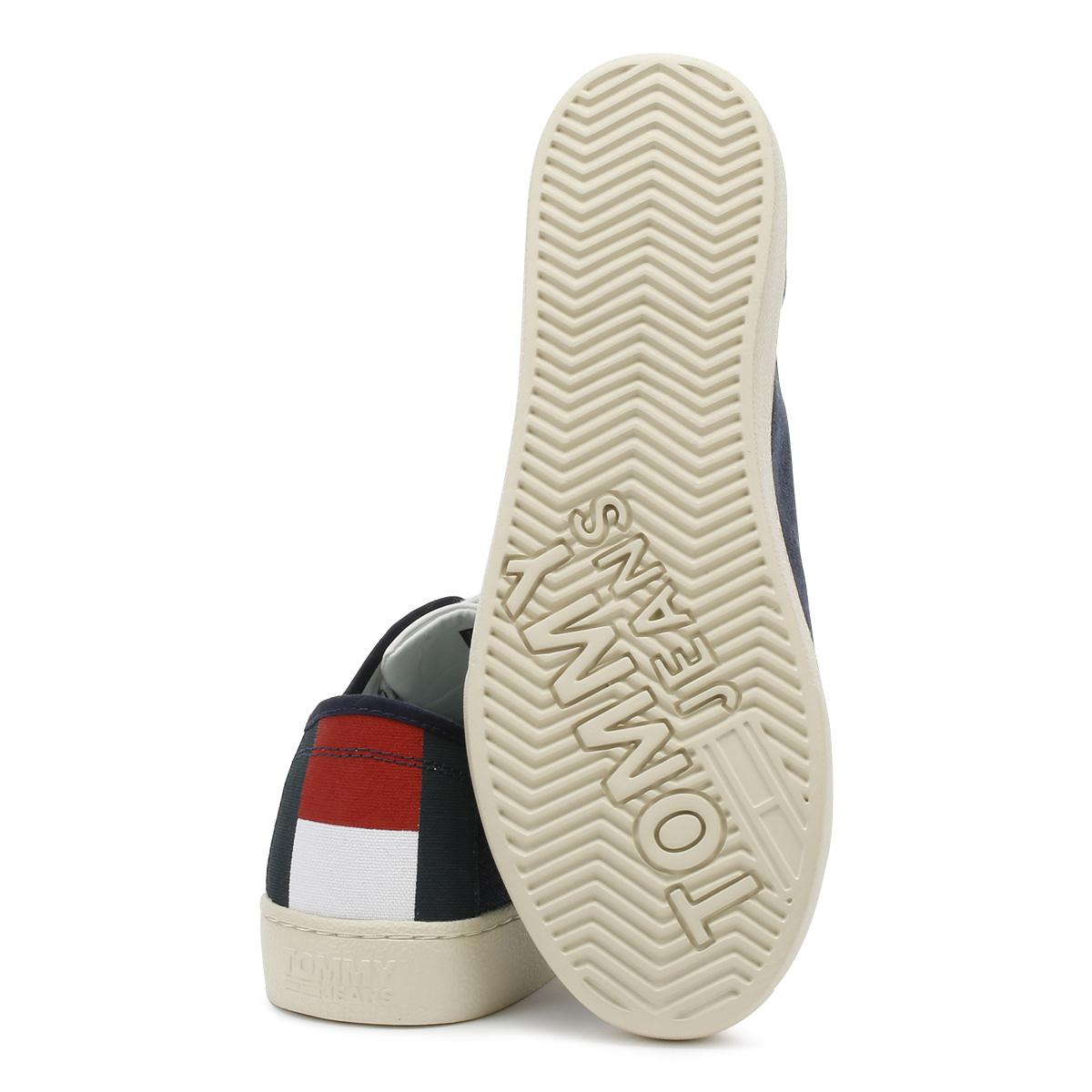 Tommy Jeans Sneaker Uomo Nero Iris Bassa Lacci Sport Scarpe Casual Scarpe classiche da uomo