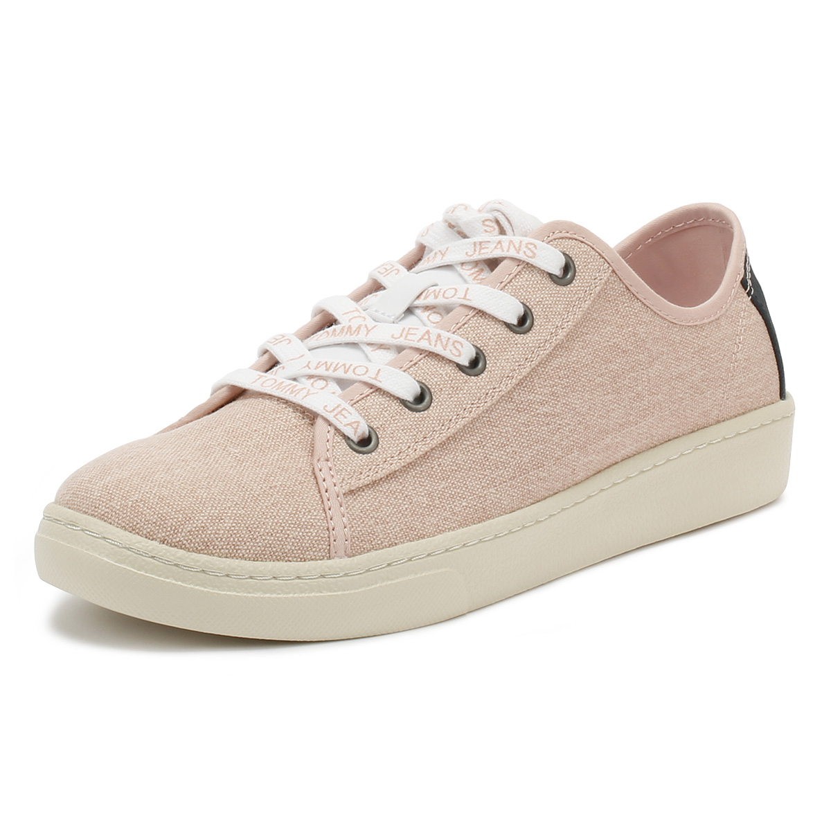 Tommy Jeans Damenschuhe Trainers Up Rose Cloud Niedrig Lace Up Trainers Sport Casual Schuhes d6bbe2
