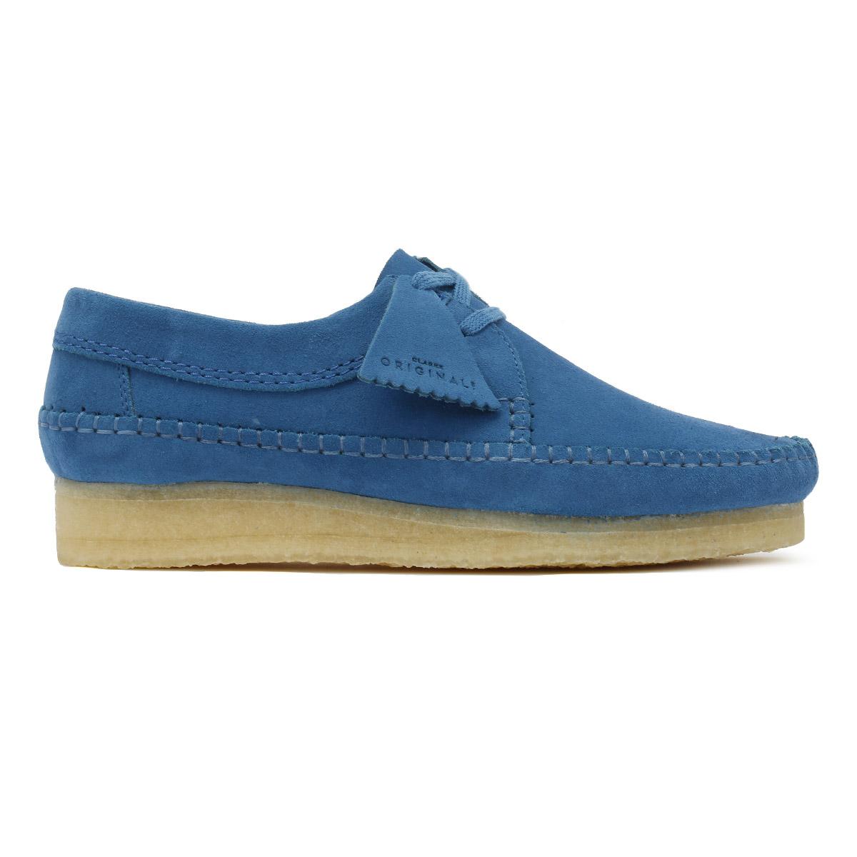 Clarks Originals daim homme Ocean Blue Weaver Chaussures en daim Originals 39ea43