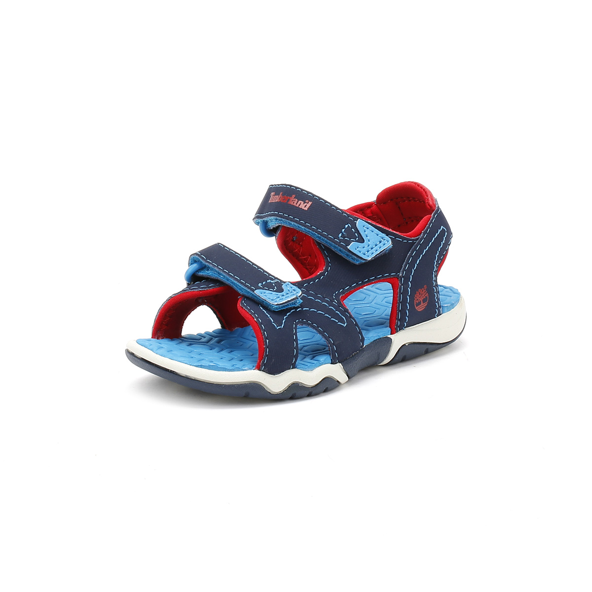 f63e3e6c9 Details about Timberland Toddlers Sandals, Navy/Blue/Red, Adventure Seeker,  2-Strap Shoes