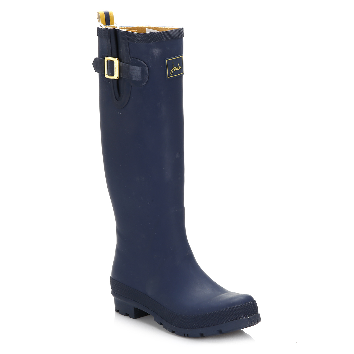 Joules Damenschuhe Wellies French Navy Casual Blau Wellington Stiefel PullOn Casual Navy Schuhes 2c7dab