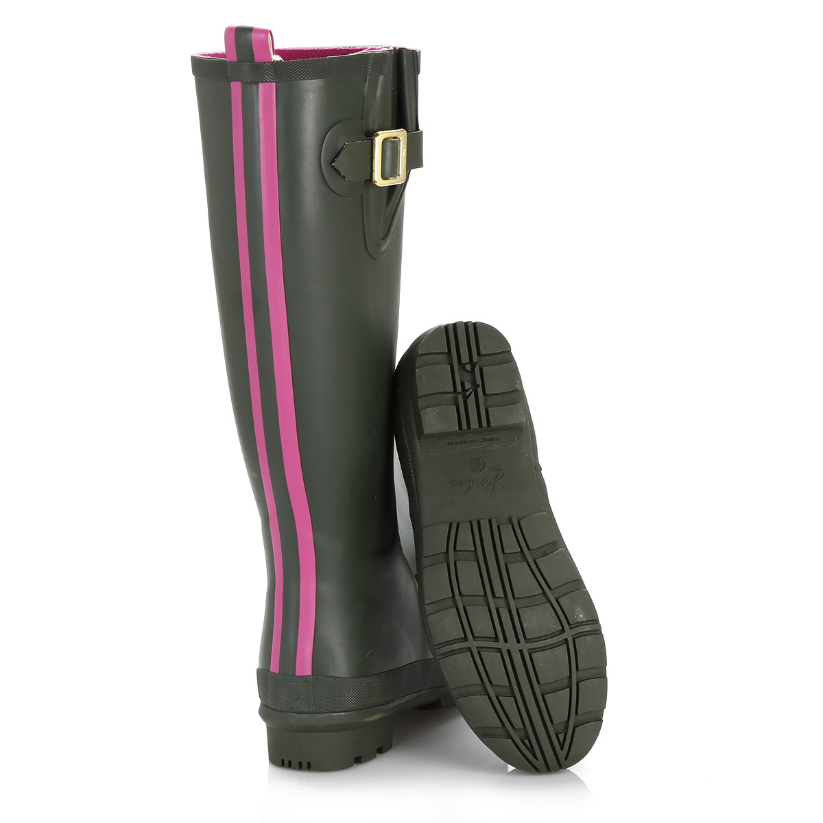 Joules Damenschuhe Stiefel Wellies Olive Green Field Wellington Stiefel Damenschuhe Rubber PullOn Schuhes 17083c