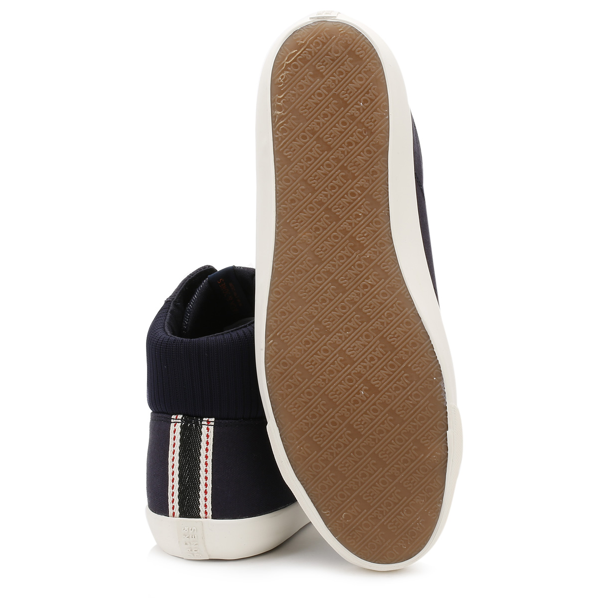 Jack & Jones Mens Lona Zapatillas, Azul Marino Blazer jfwdunmore, Zapatos informales