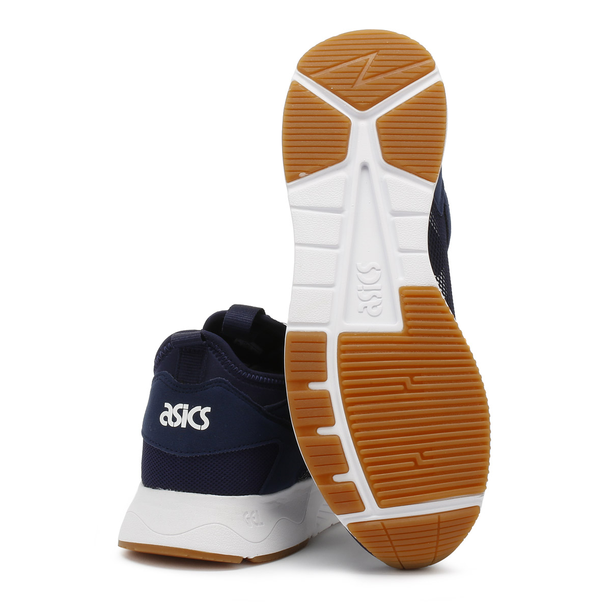 ASICS Mens Trainers Peacoat Navy Gel-Lyte V RB Lace Up Sport Casual Shoes