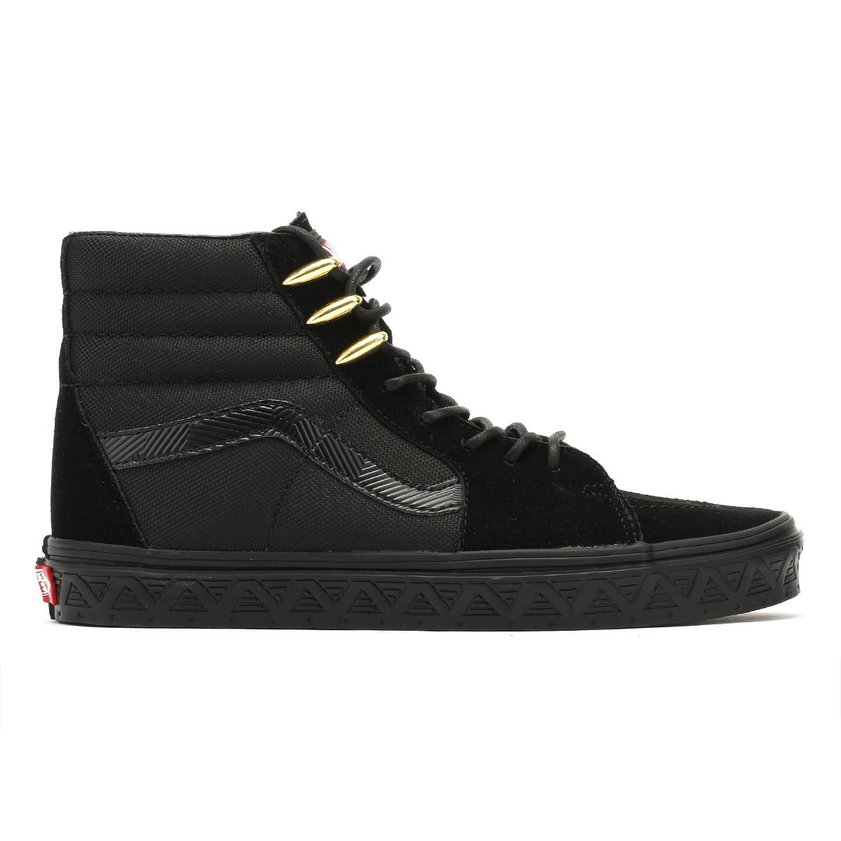 8556e8f62dc5 Vans Unisex Trainers Marvel Black Panther SK8-Hi Lace Up Skate Casual Shoes