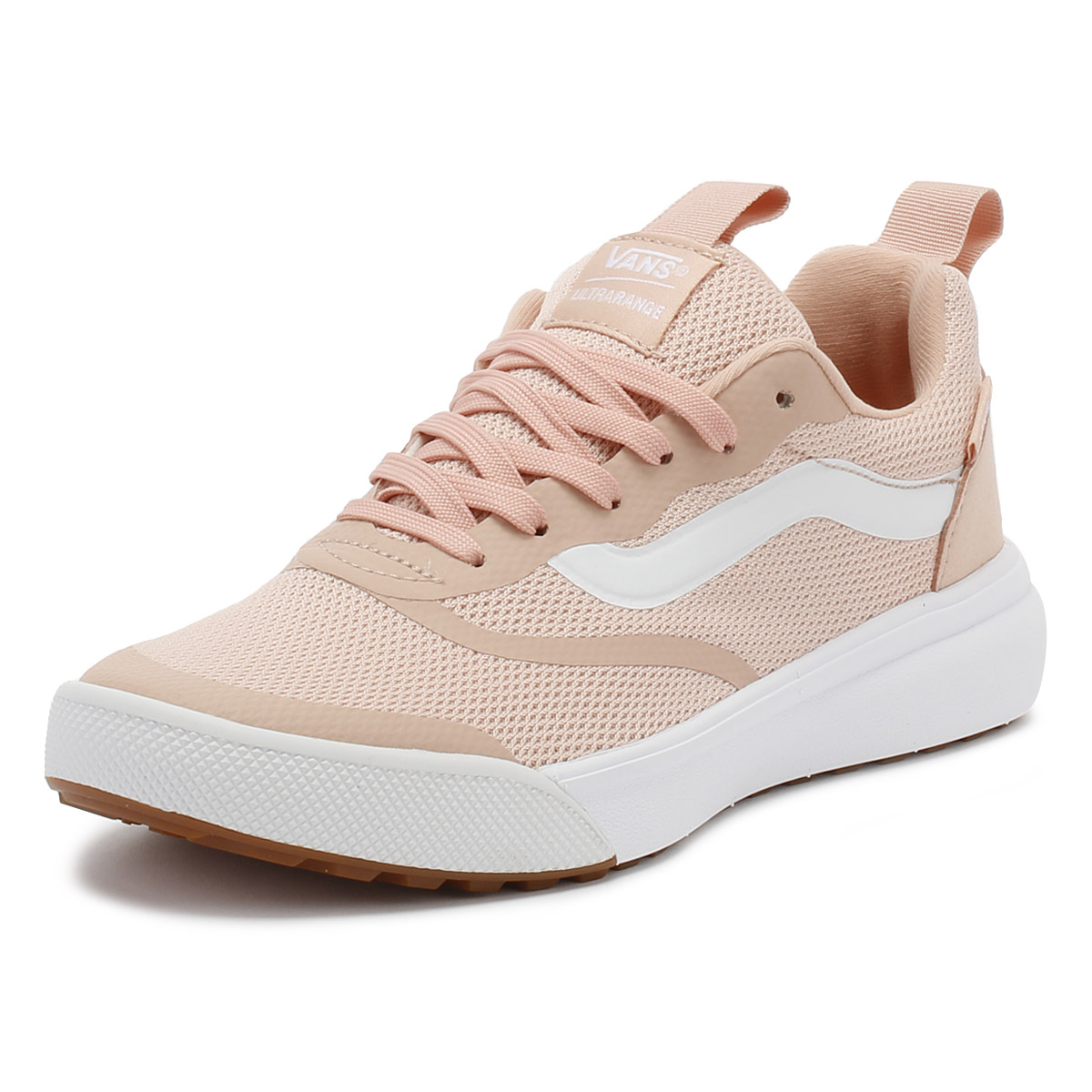 20fa3dd298cd Details about Vans Womens Trainers Rose Cloud Pink Ultrarange Ladies Sport  Casual Shoes