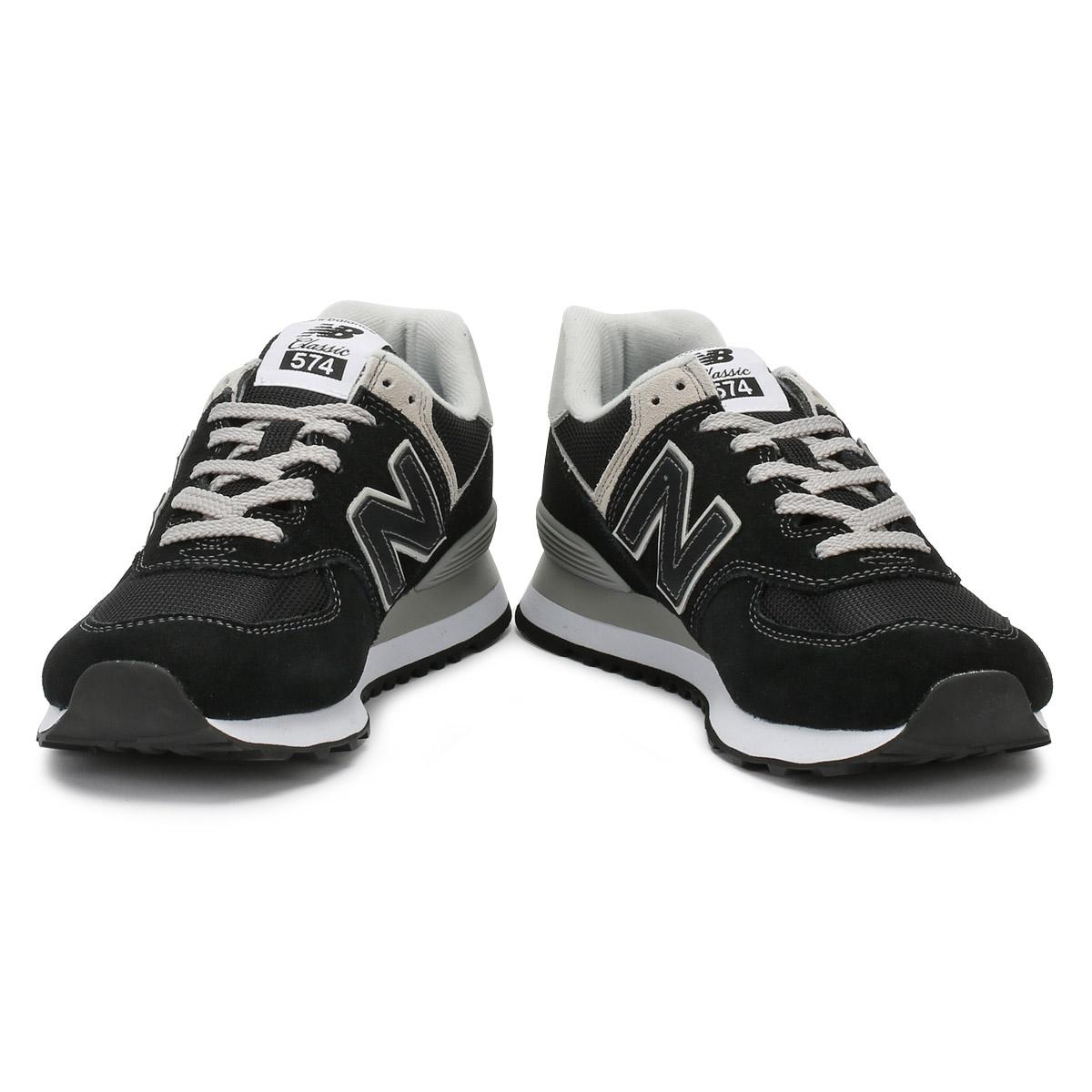 new balance femmes 574 noir blanche