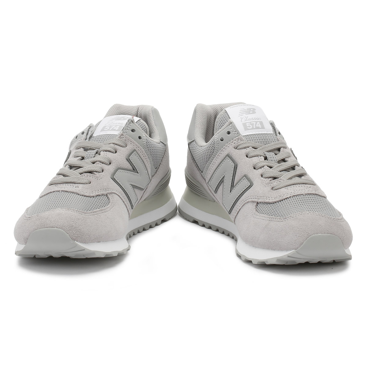 New Balance  Uomo Trainers Rain Cloud Grau Sport 574 Classic Lace Up Sport Grau Casual Schuhes 264720