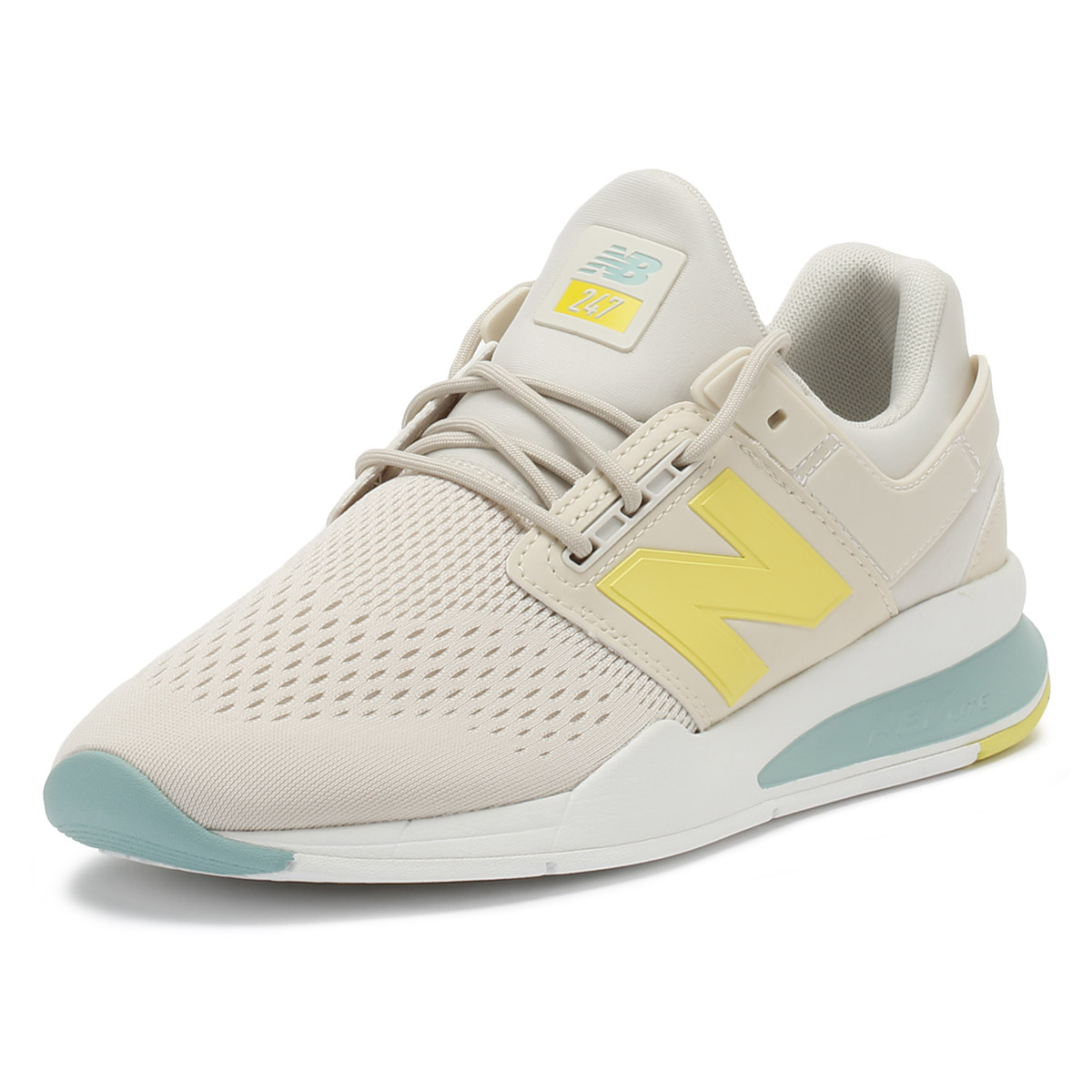 New Mineral Balance Damenschuhe Trainers Moonbeam Weiß  Mineral New Sage 247 Sport Casual Schuhes d1e041