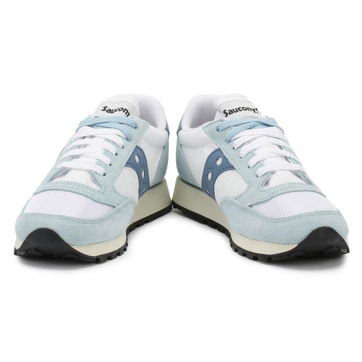 SAUCONY Da Donna Scarpe da ginnastica bianca & Blue JAZZ VINTAGE ORIGINAL VINTAGE JAZZ Sport Scarpe Casual a098e8