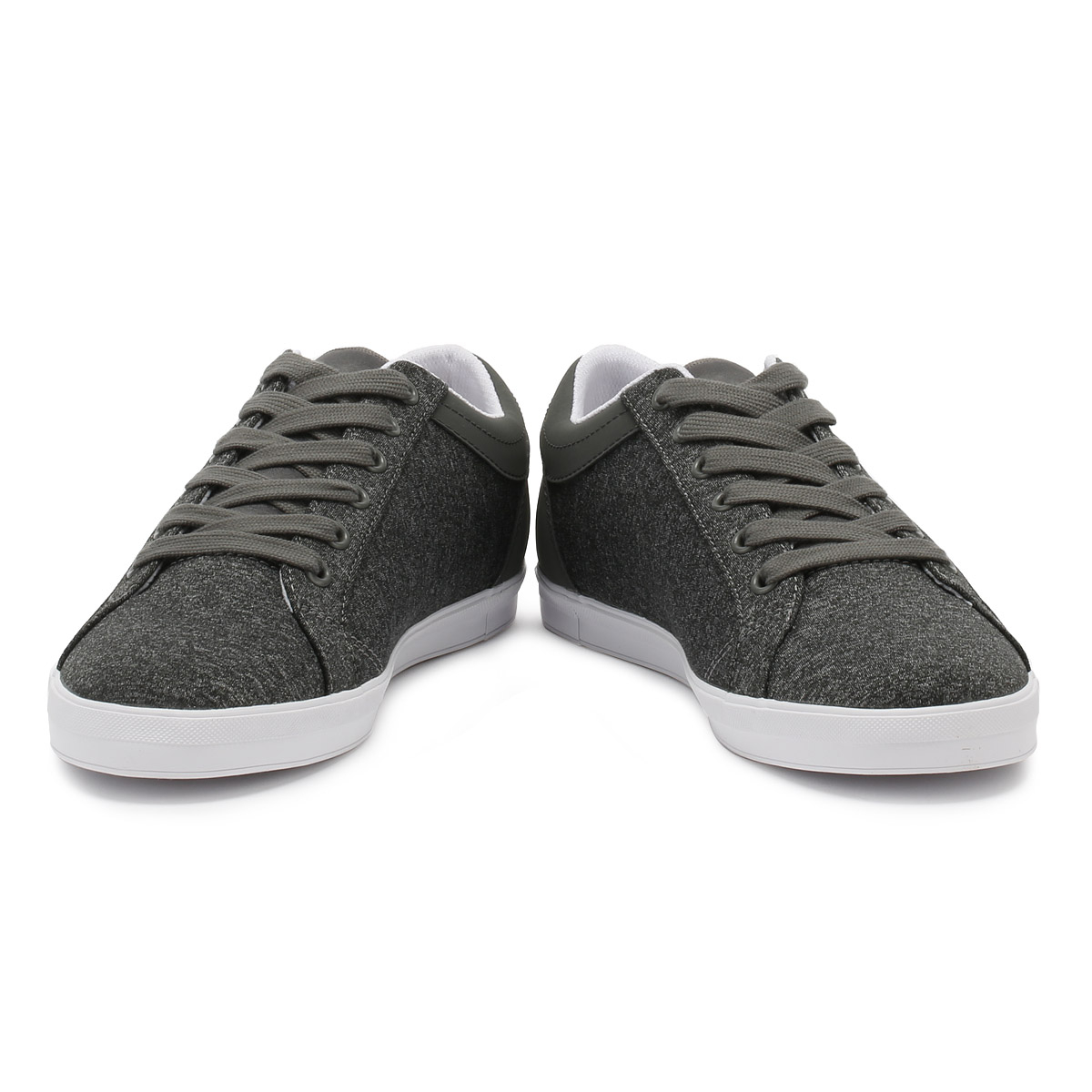 Fred Perry Mens Trainers Falcon Grey Sport Baseline Marl Lace Up Sport Grey Casual Shoes 0ba34a