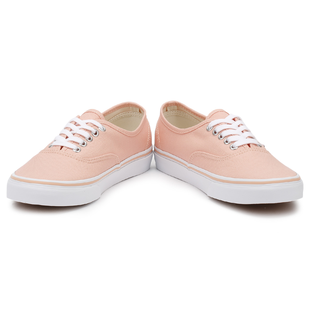 Vans-Authentic-Womens-Trainers-Tropical-Peach-True-White-