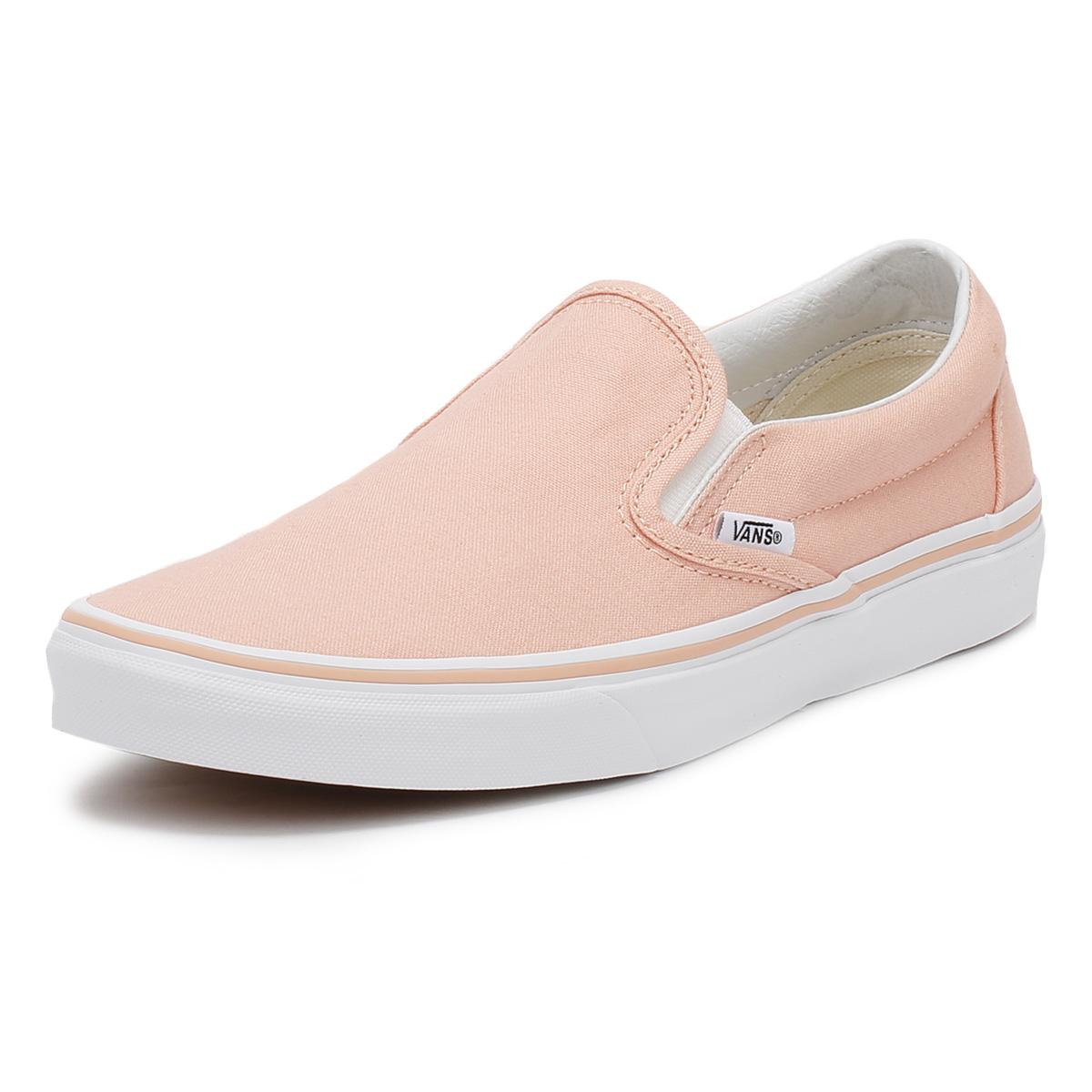 Vans UA Classic Slip-On, Zapatillas para Mujer, Rosa (Tropical Peach/True White), 40.5 EU