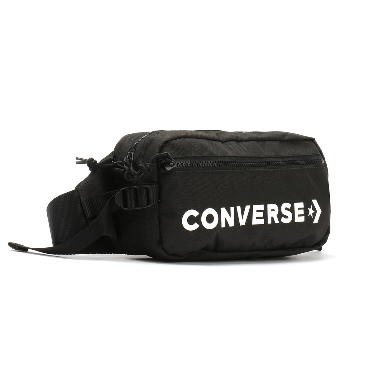 1ab5f2436b1 Converse Black   White Fast Pack Sling Bag Unisex Travel ...