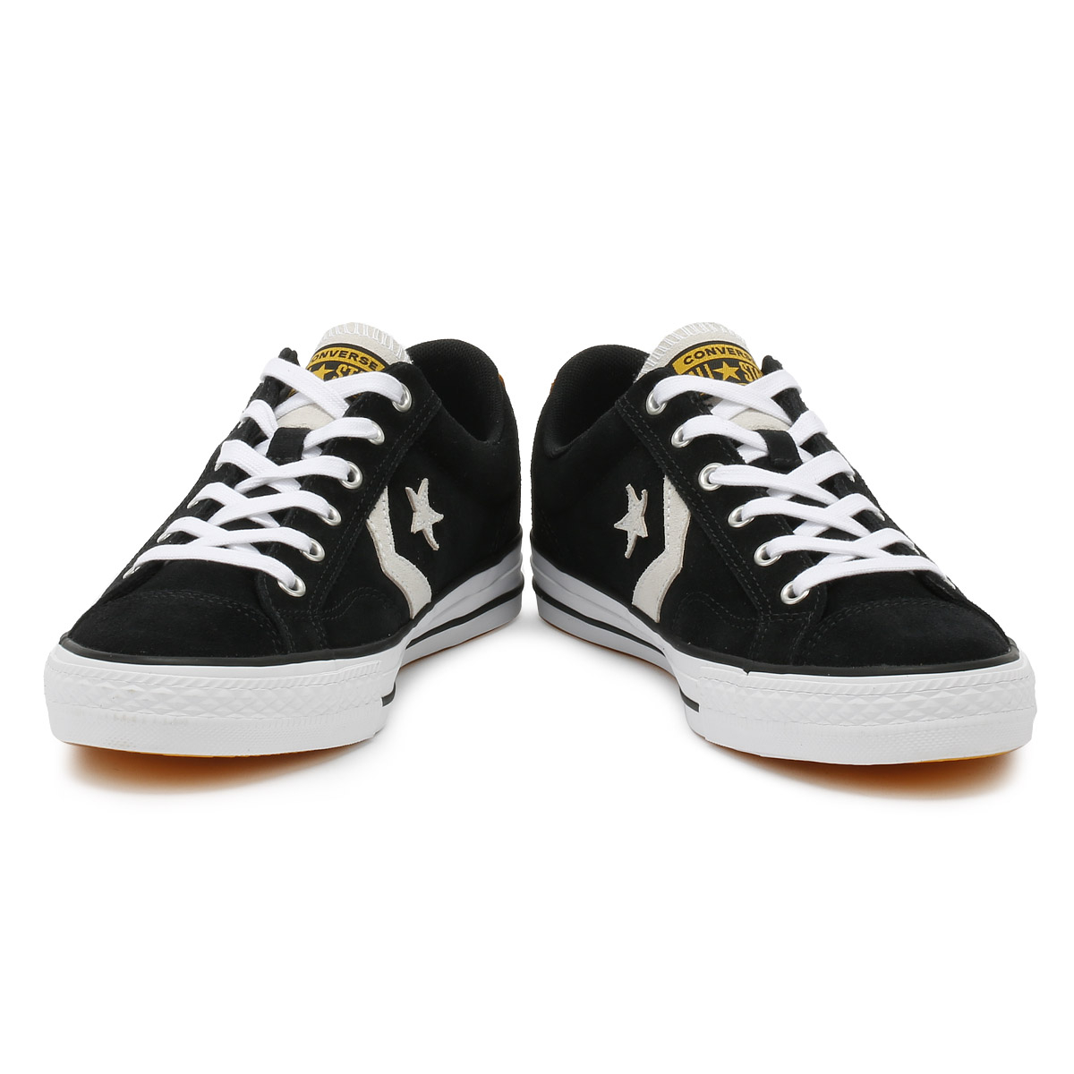 CONVERSE Baskets Homme BLACK & WHITE WHITE & STAR PLAYER suede ox Sport Loisirs Chaussures aa42de