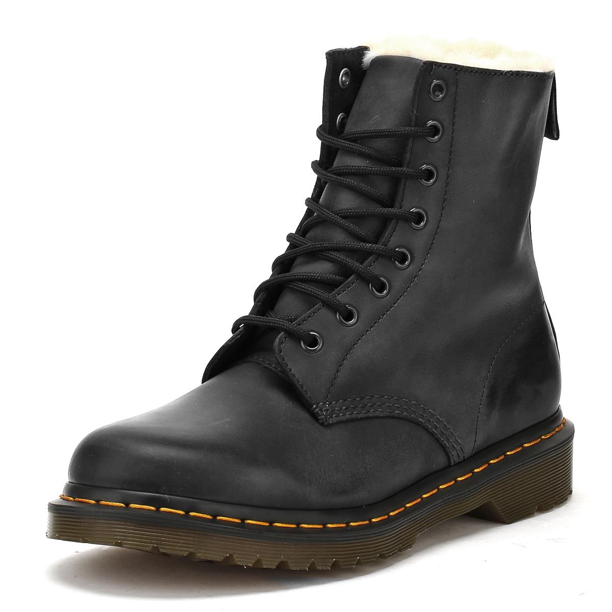 Dr. Martens Burnished Damens Ankle Stiefel Lace Up Burnished Martens Winter  Leder schuhes Casual 862b39