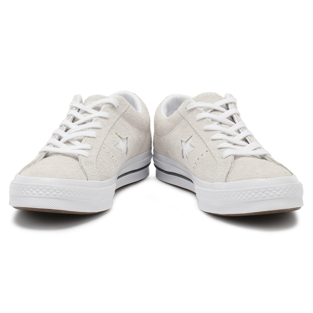 Converse One Star Mens Trainers White Suede Lace Up Ox Sport Casual Shoes