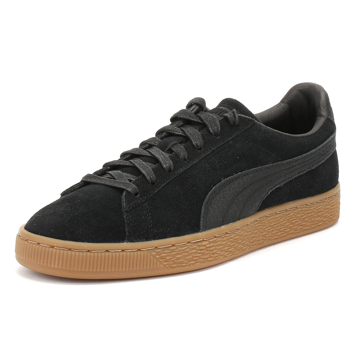 Puma Suede Classic Unisex Brown Suede Casual Trainers Lace-up Genuine Shoes