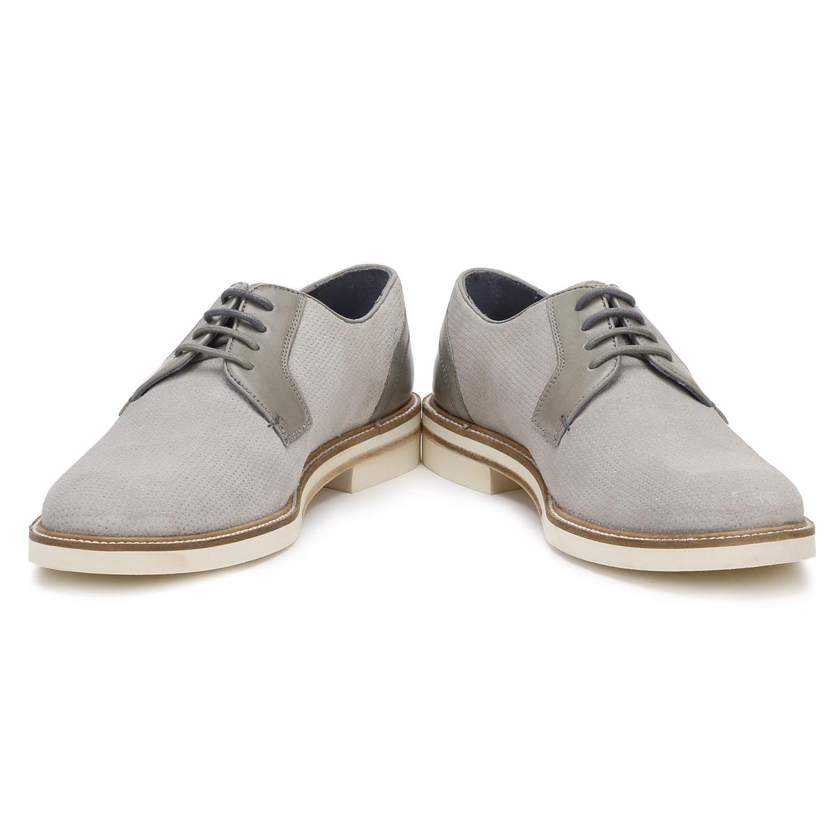 94ddd6a036fecf Ted Baker Mens Light Grey Siablo Derby Shoes