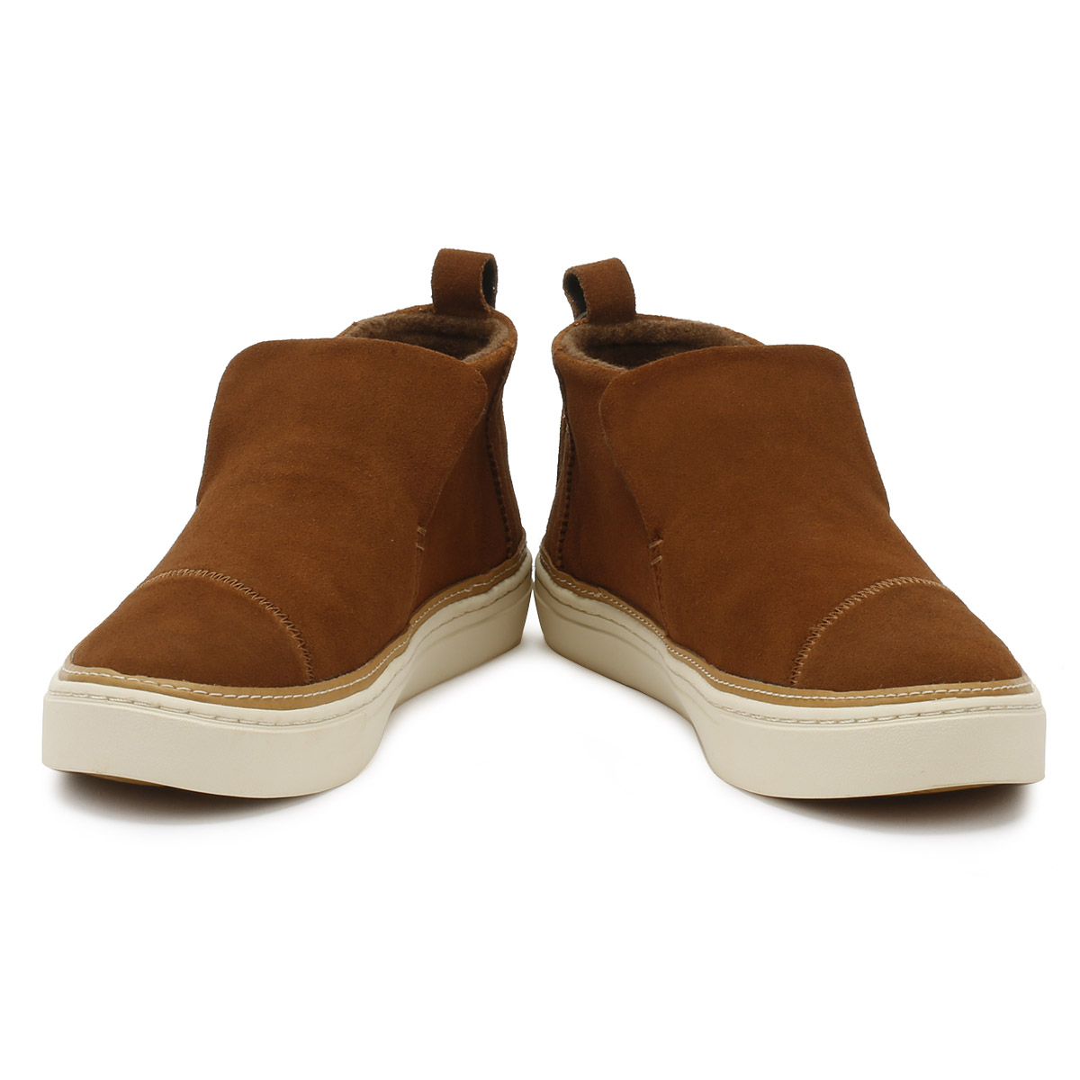 d901391531c TOMS Womens Dark Amber Brown Suede Paxton Shoes Casual Ankle Boots ...