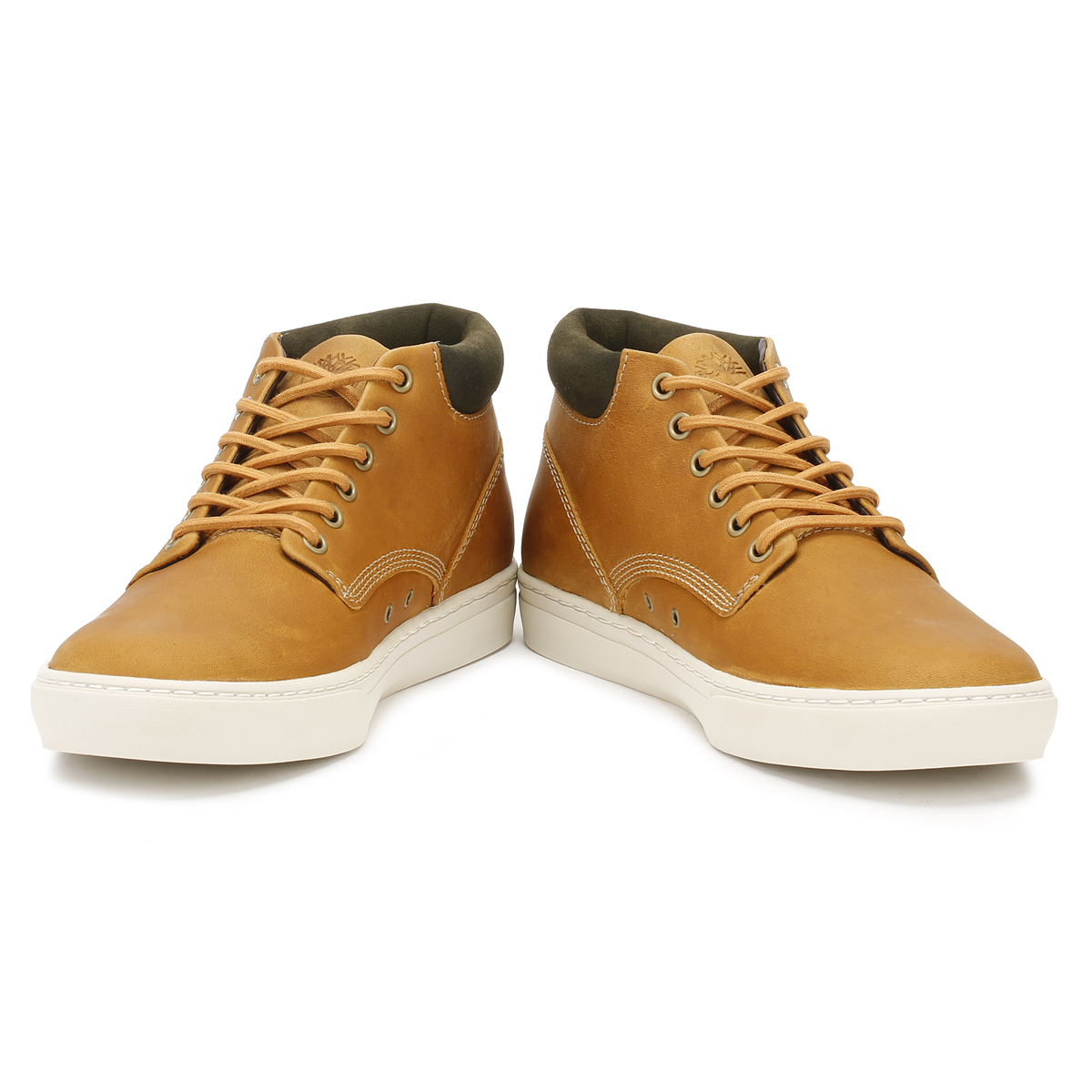 9af5713a Timberland Men Wheat Adventure Cupsole Chukka Boots Leather Ankle Trainer  Shoes