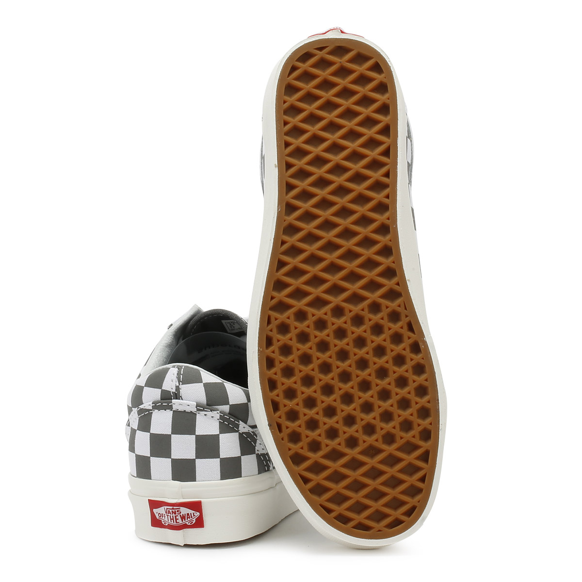 Vans Up  Uomo Trainers Pewter Grau & Marshmallow Lace Up Vans Old Skool Skate Schuhes 7f6fe9