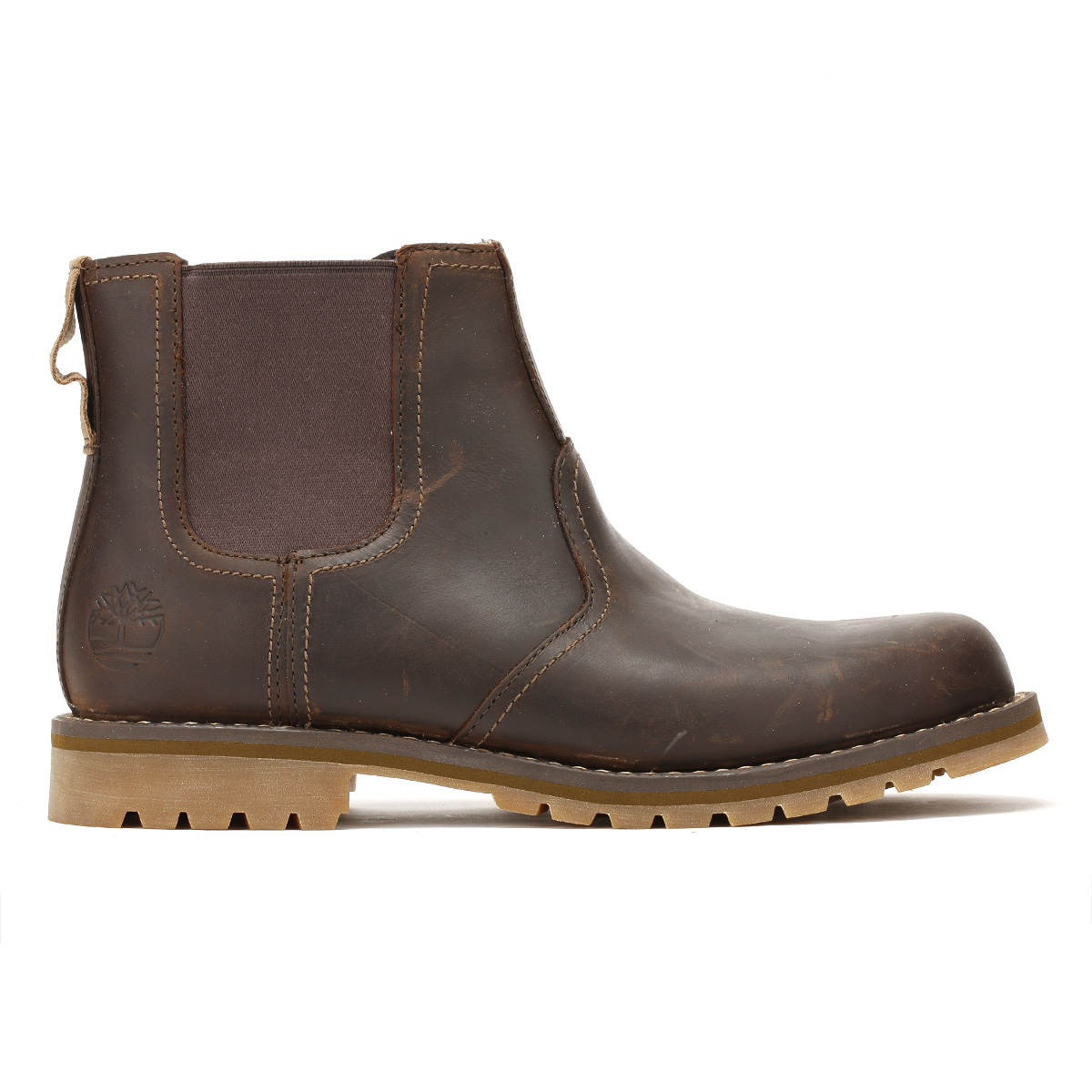 browse online Dark brown leather 'Larchmont' Chelsea boots buy cheap best prices HlJhqs