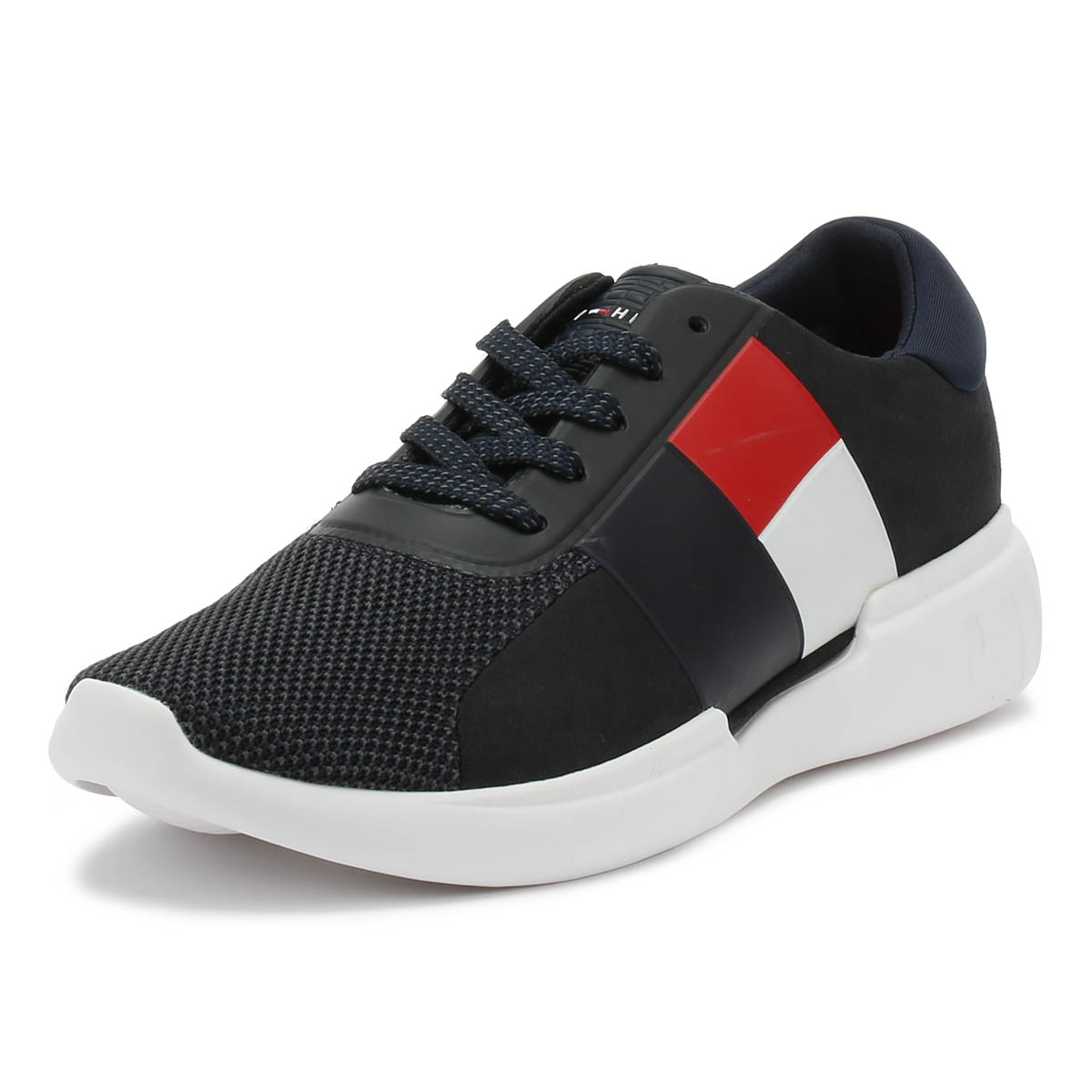 4632e3e9d67f Details about Tommy Hilfiger Mens Trainers Midnight Lighweight Sport Casual Running  Shoes