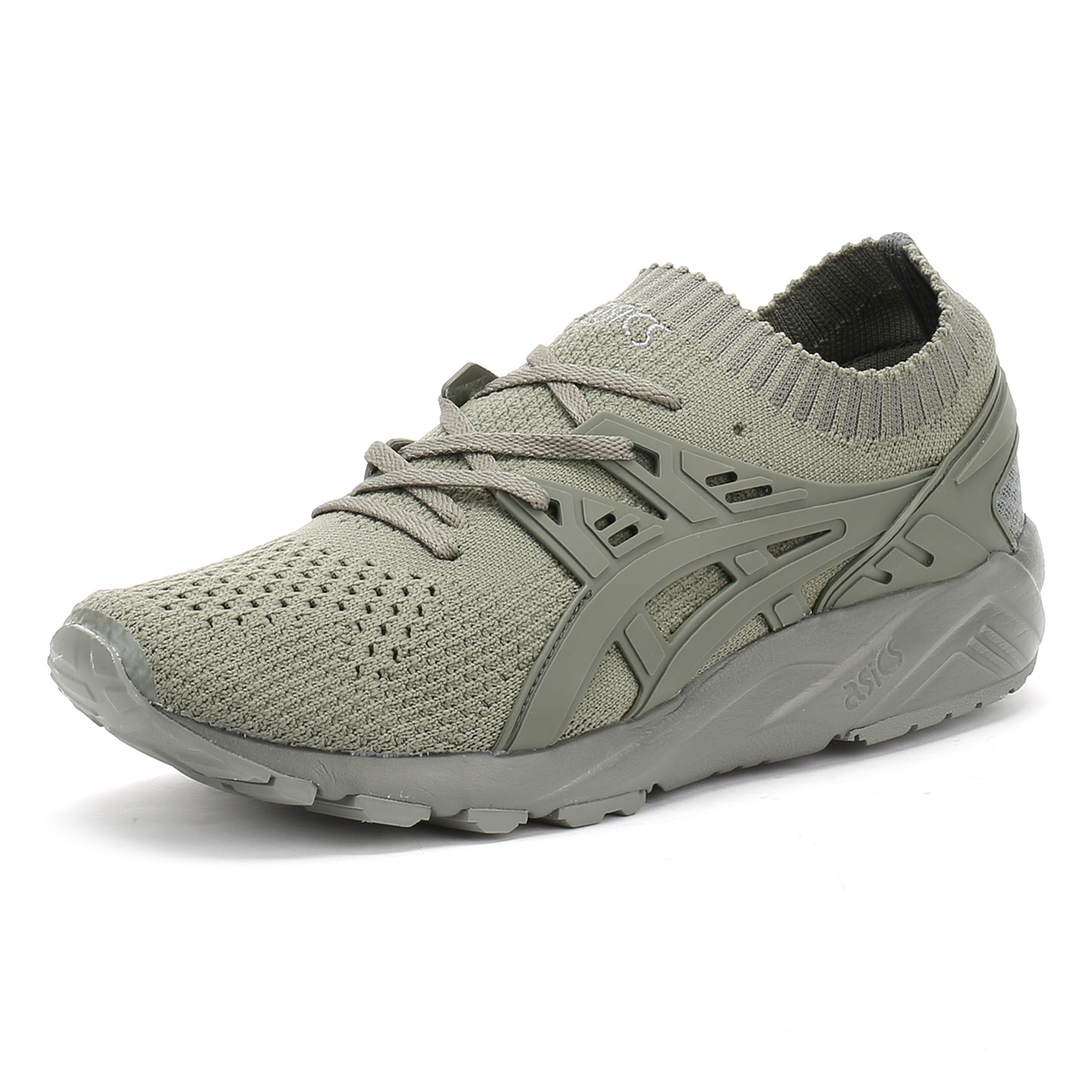 quality design 242dd 01f86 Details about ASICS Mens Knit Trainers, Agave Green, Gel Kayano, Lace Up,  Sport Shoes