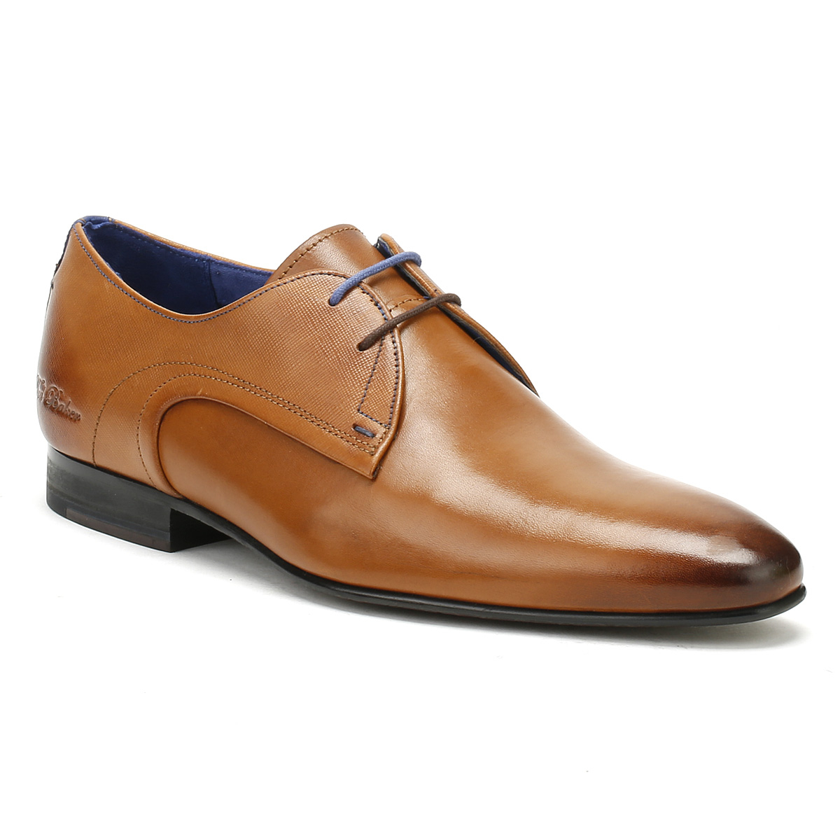 4ec43fea6 Ted Baker Mens Peair Formal Shoes Tan Brown Leather Lace Up Smarts ...