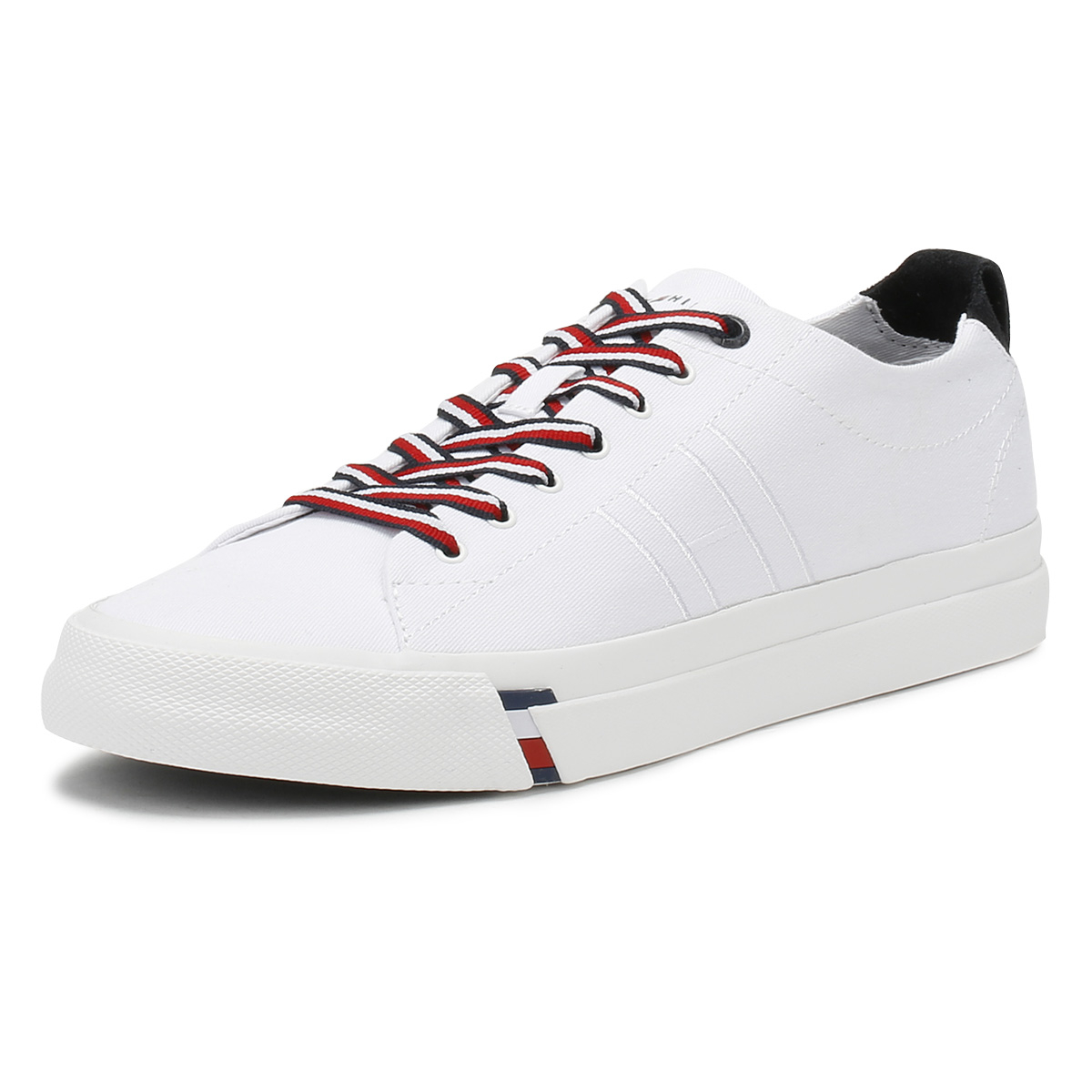 Tommy hilfiger mens white dino 1d trainers lace up sport casual tommy hilfiger mens white dino 1d trainers lace publicscrutiny Choice Image