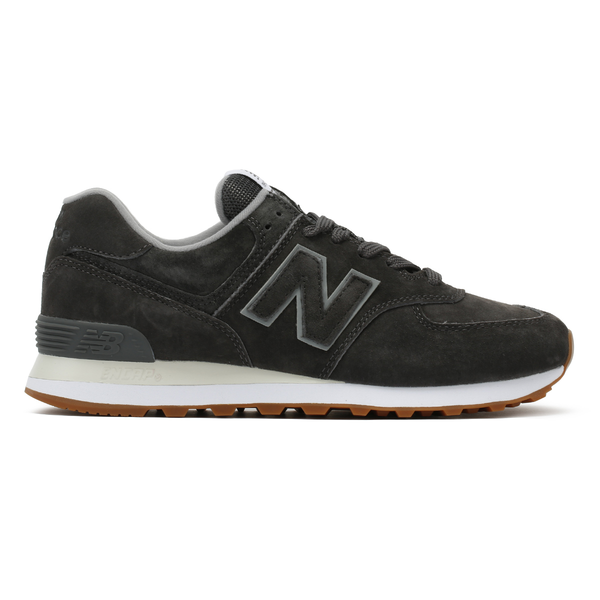 New Grey Balance Mens Trainers Castlerock Grey New 574 Lace Up Classic Sport Casual Shoes b47e5b