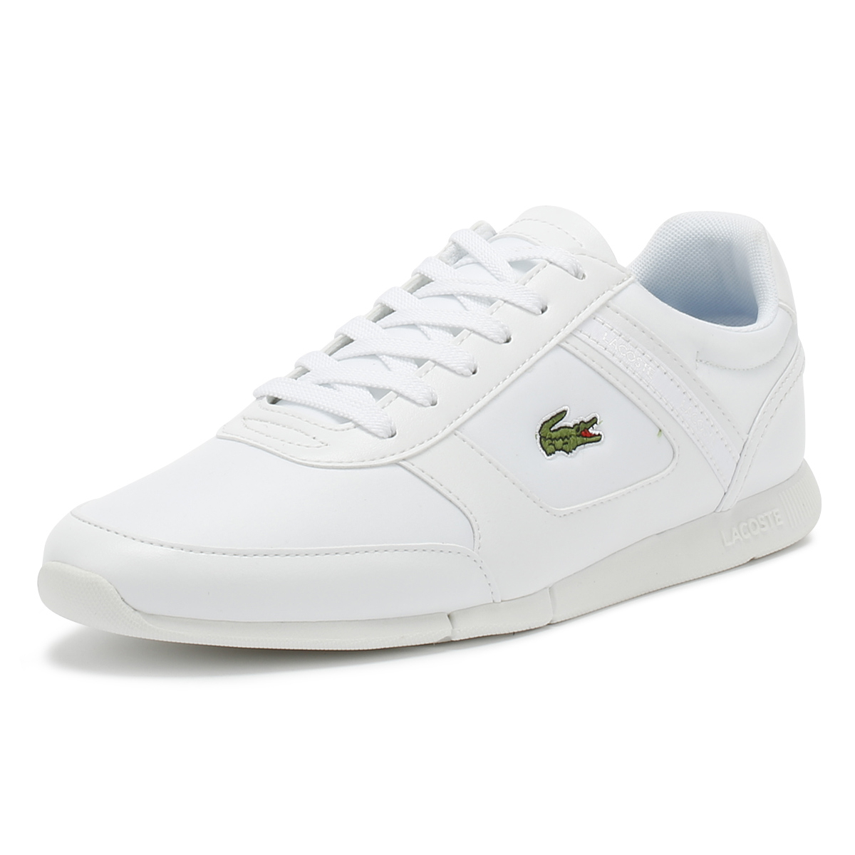 Lacoste   Herren Trainers Sport Weiß Menerva Sport Trainers 318 2 Lace Up Sport Casual Schuhes 78b249