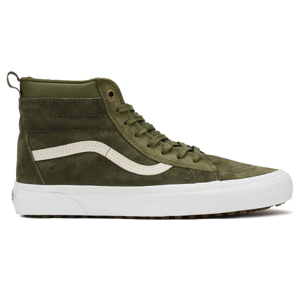 Vans Mens Trainers Winter Moss Military Green SK8-Hi MTE Casual Skate Shoes