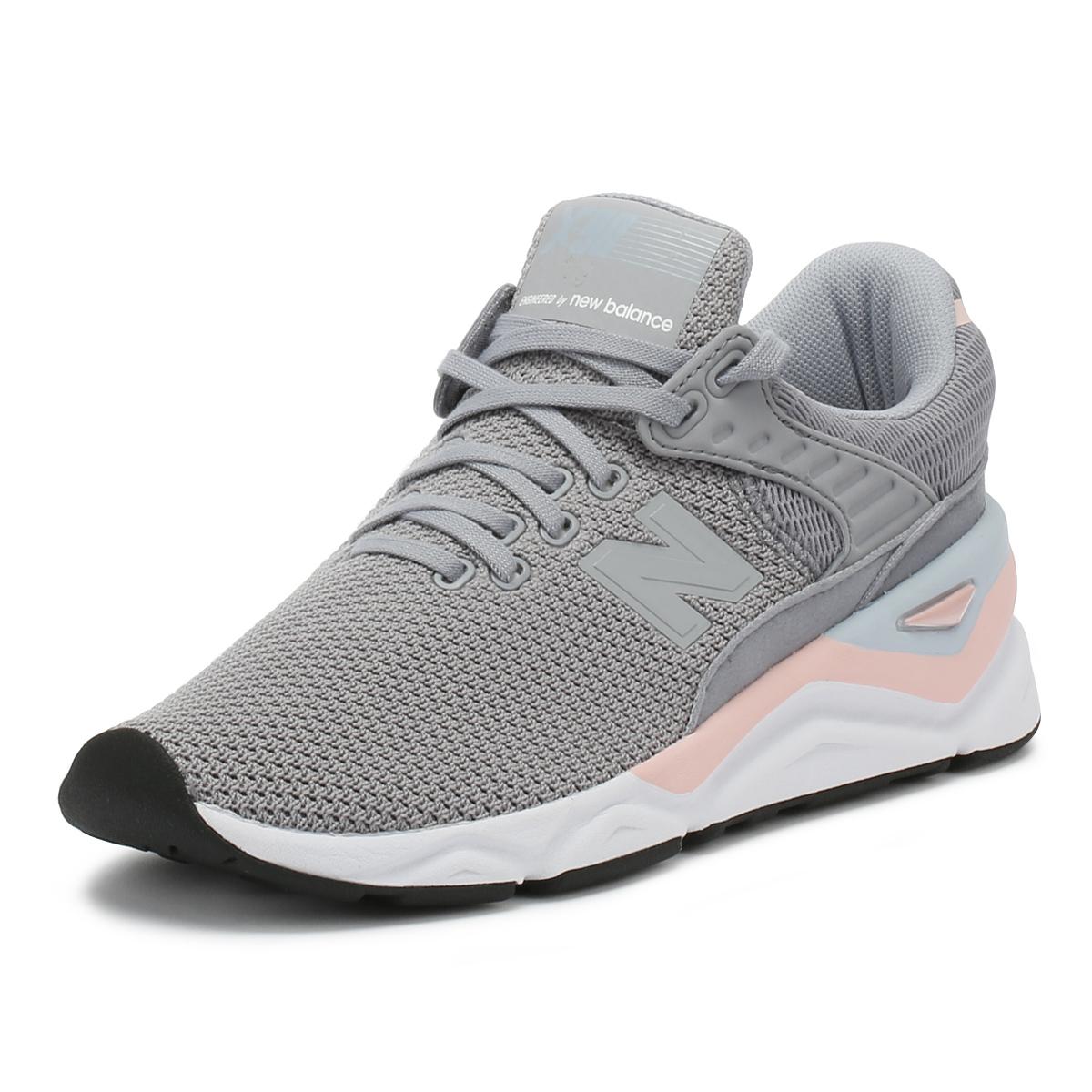 basket new balance femme gris et rose