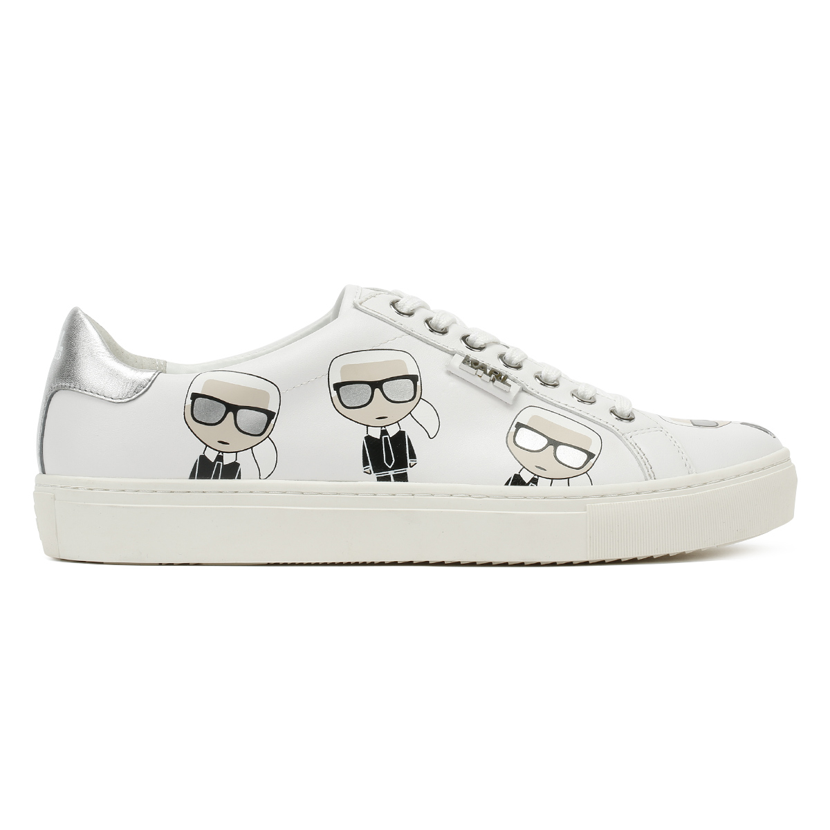 Karl Lagerfeld Lo kupsole multikonic Karl Lo Lagerfeld Blanc Femme Baskets Chaussures De Loisirs 66952c